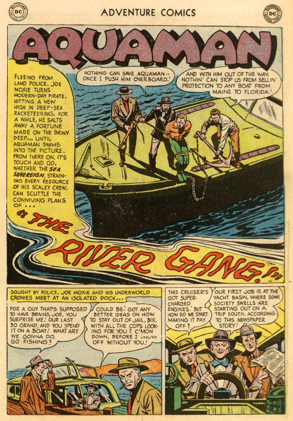 Read online Adventure Comics (1938) comic -  Issue #195 - 17