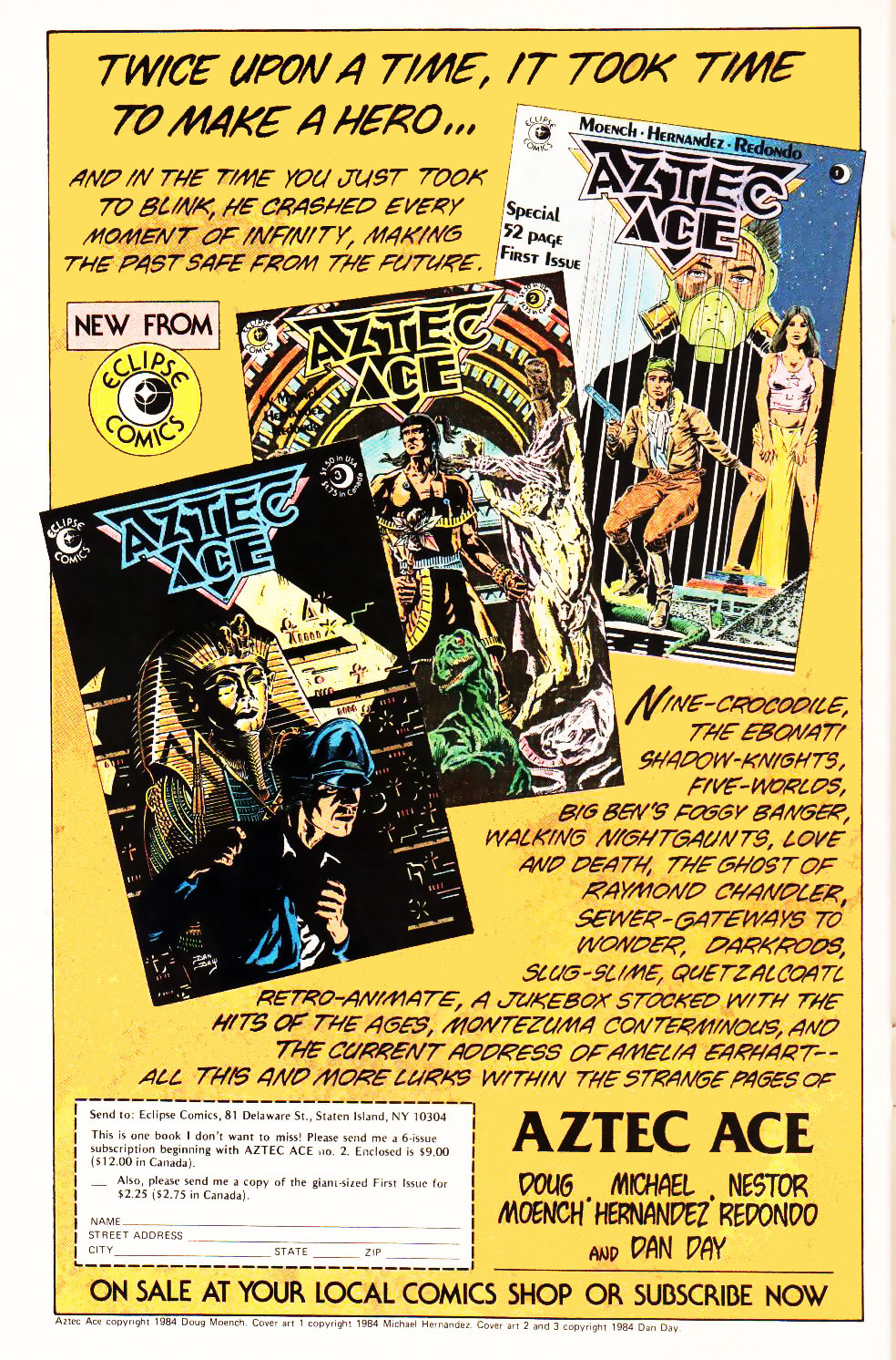 Read online Aztec Ace comic -  Issue #4 - 28