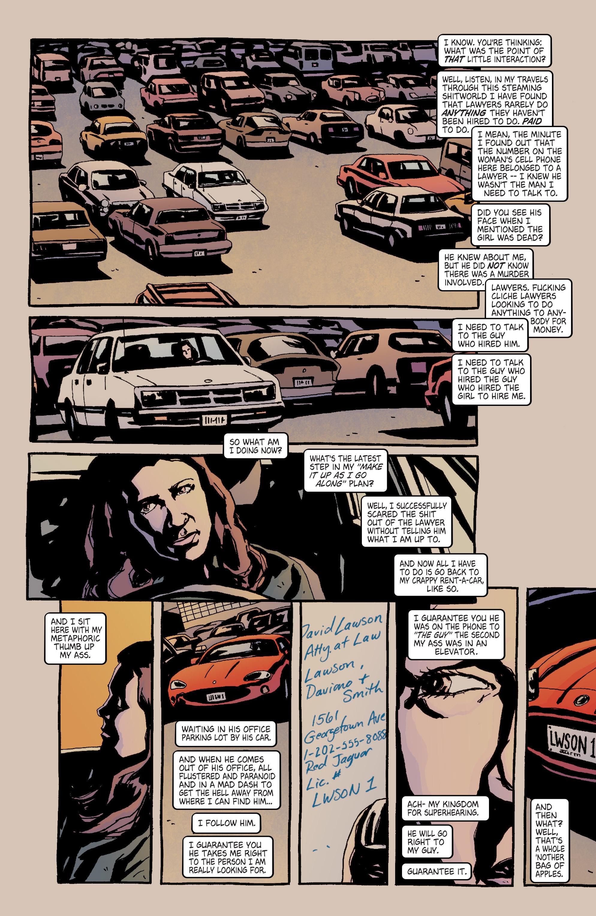 Read online Alias comic -  Issue #4 - 15