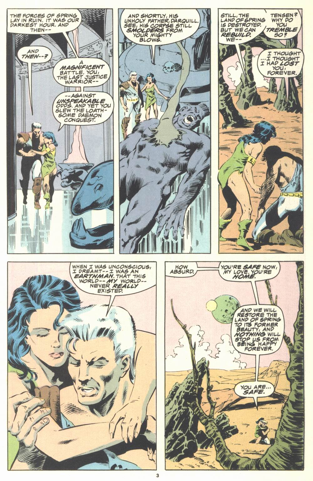 Read online Justice (1986) comic -  Issue #21 - 5