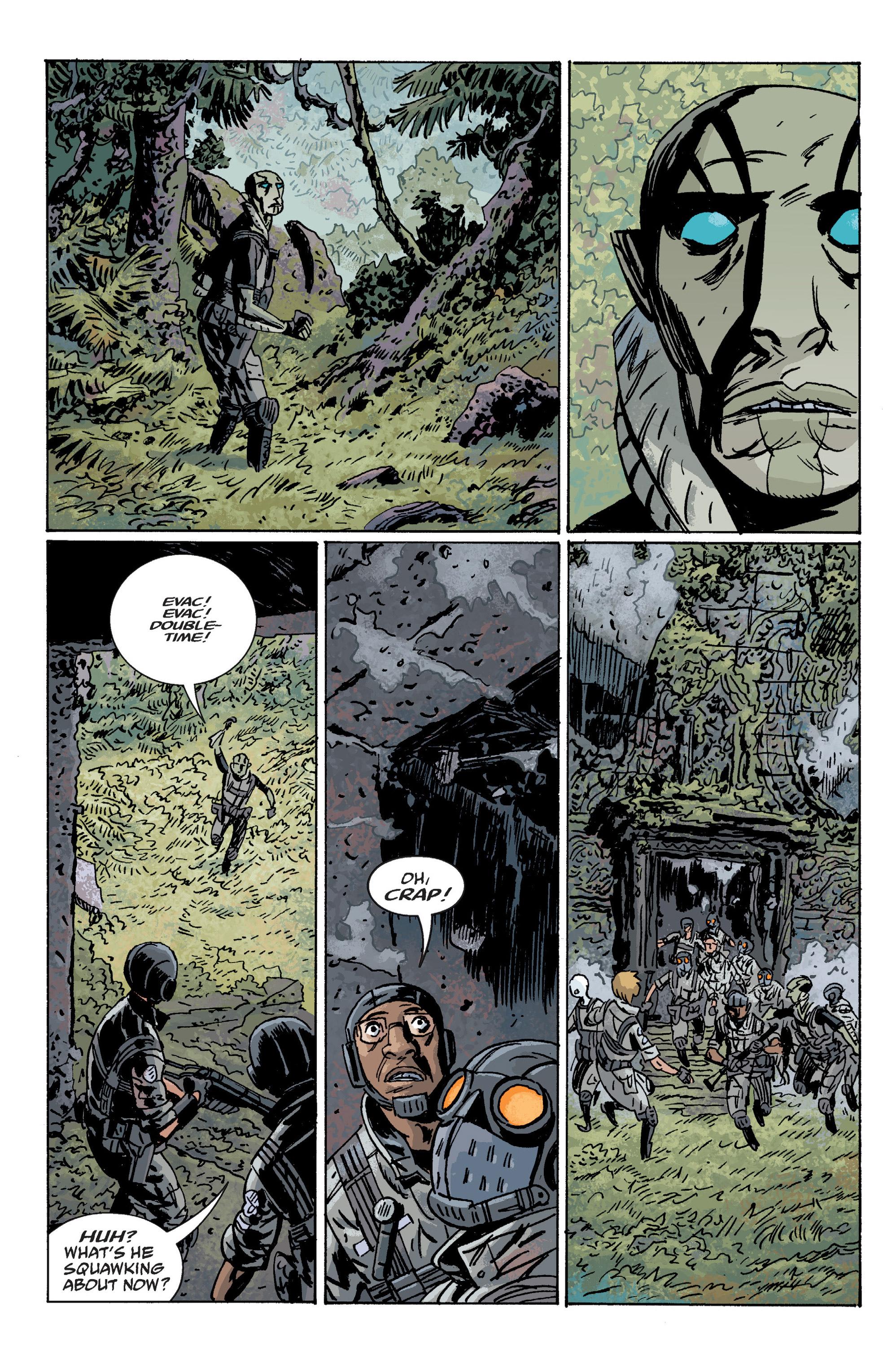Read online B.P.R.D. (2003) comic -  Issue # TPB 10 - 64