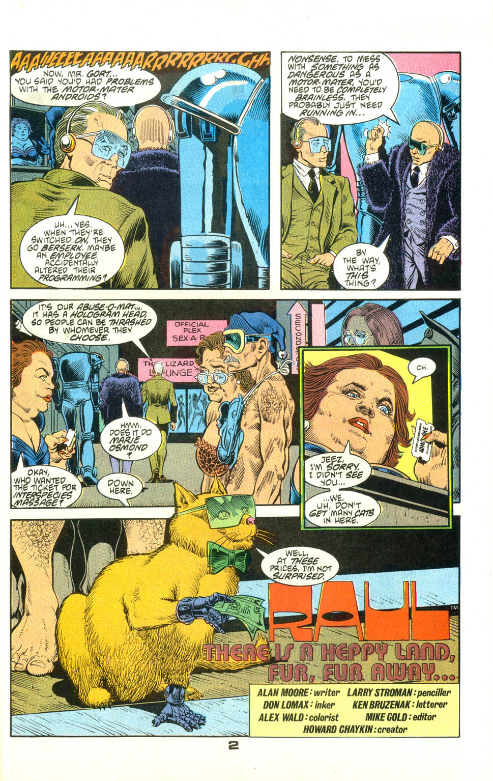 Read online American Flagg! comic -  Issue #23 - 24