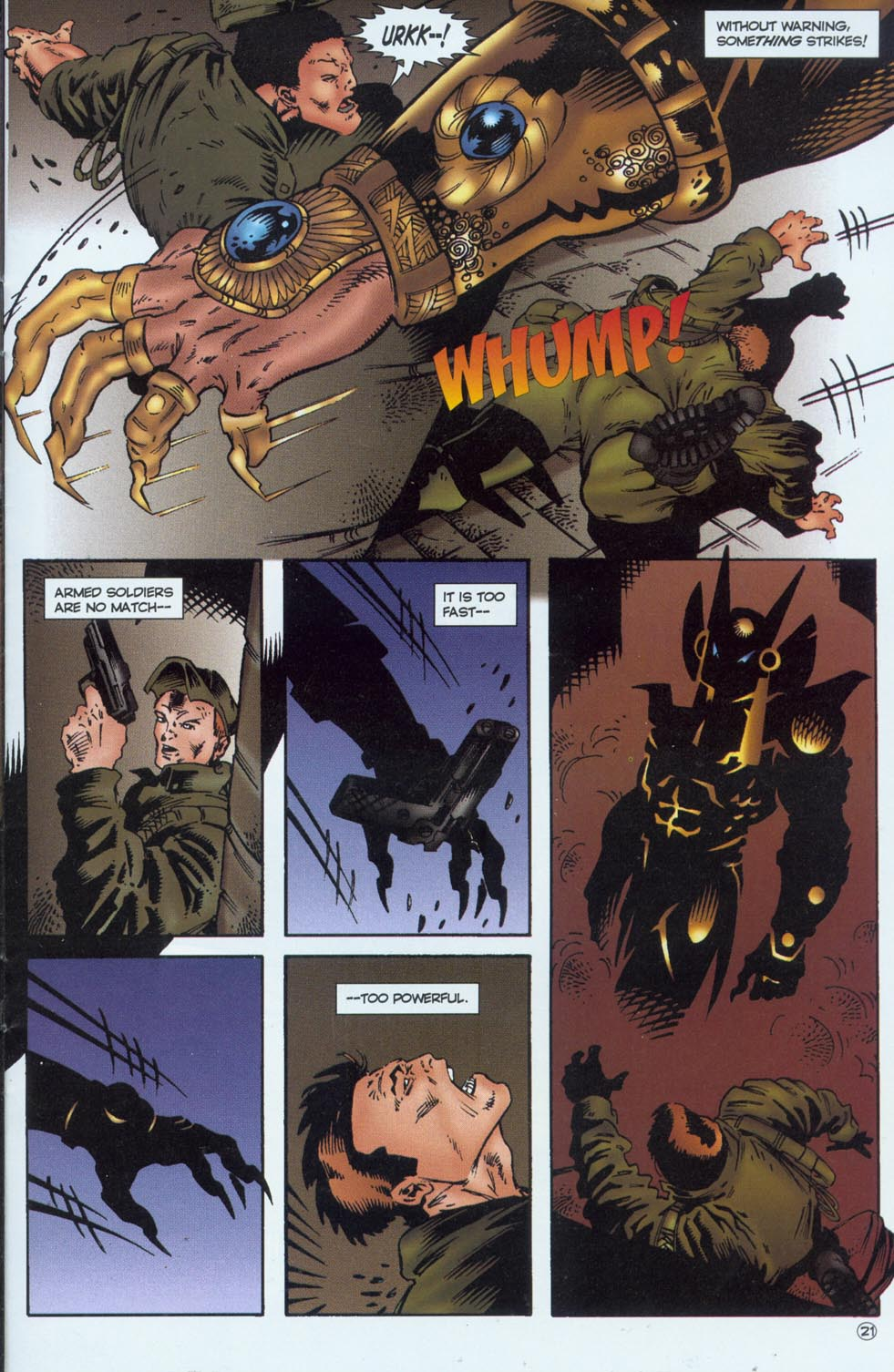 Read online Stargate comic -  Issue #1 - 23