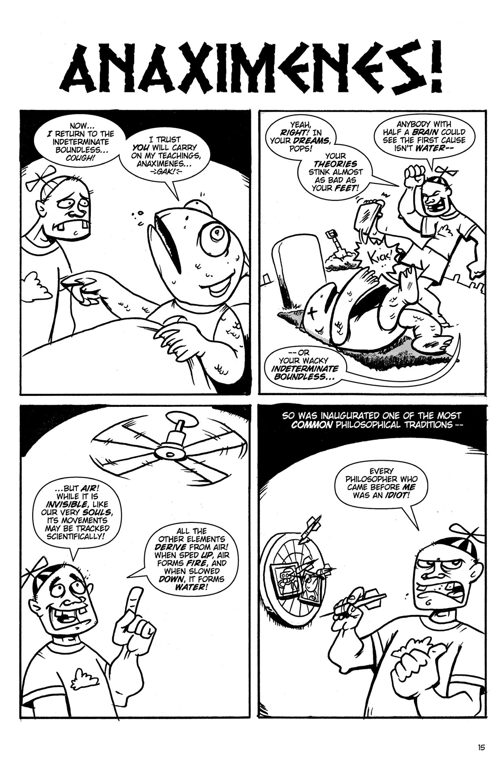 Read online Action Philosophers! comic -  Issue #Action Philosophers! TPB (Part 1) - 15