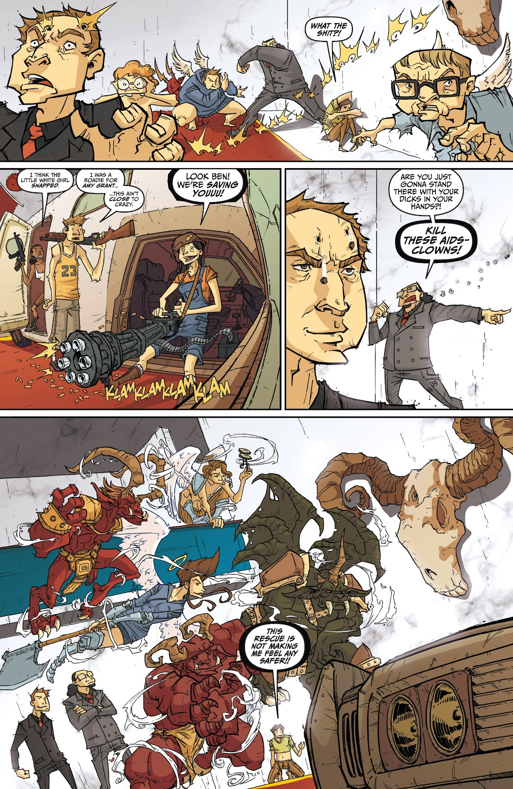Read online The End Times of Bram and Ben comic -  Issue #4 - 15
