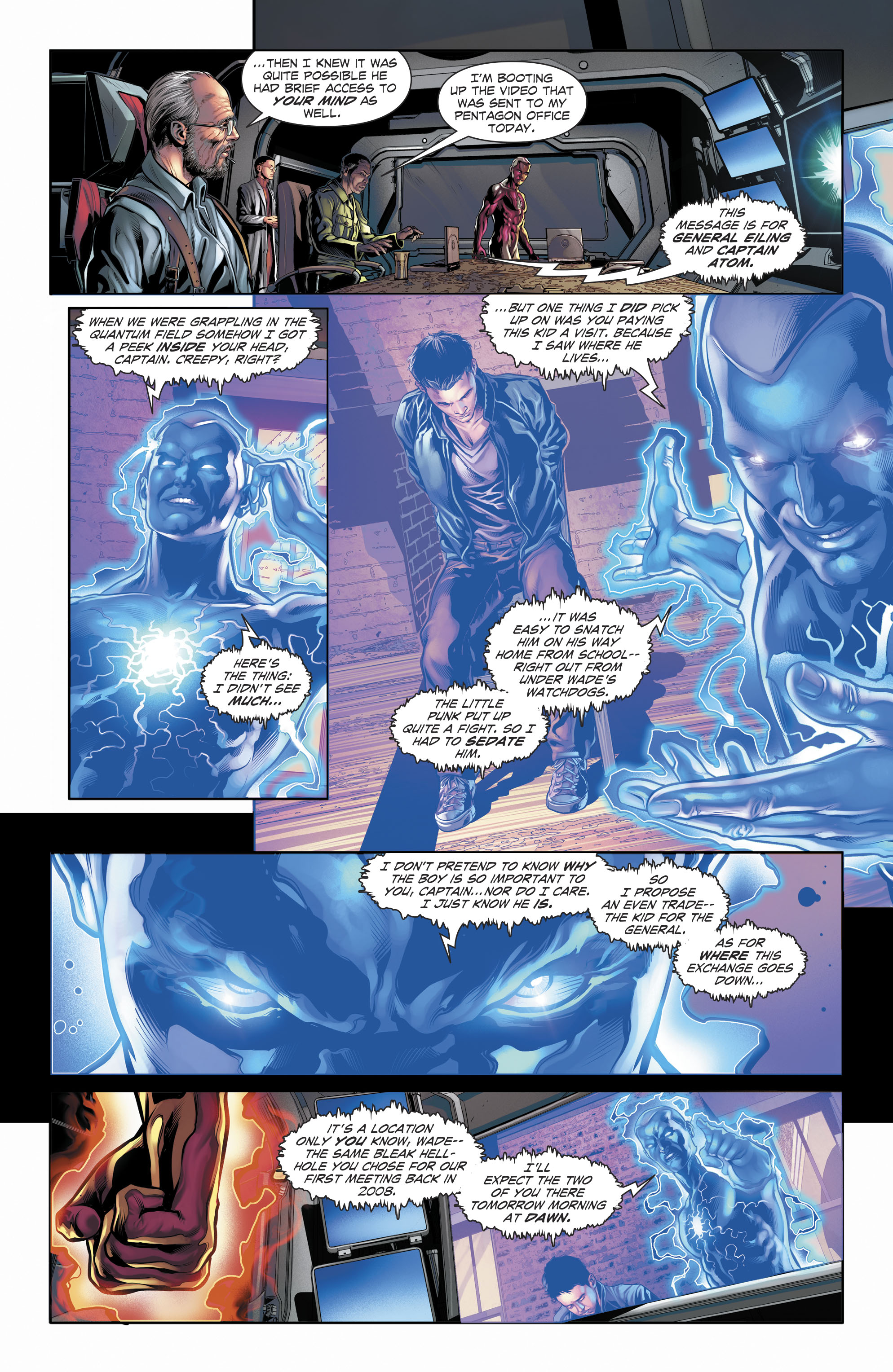 Read online The Fall and Rise of Captain Atom comic -  Issue #6 - 9