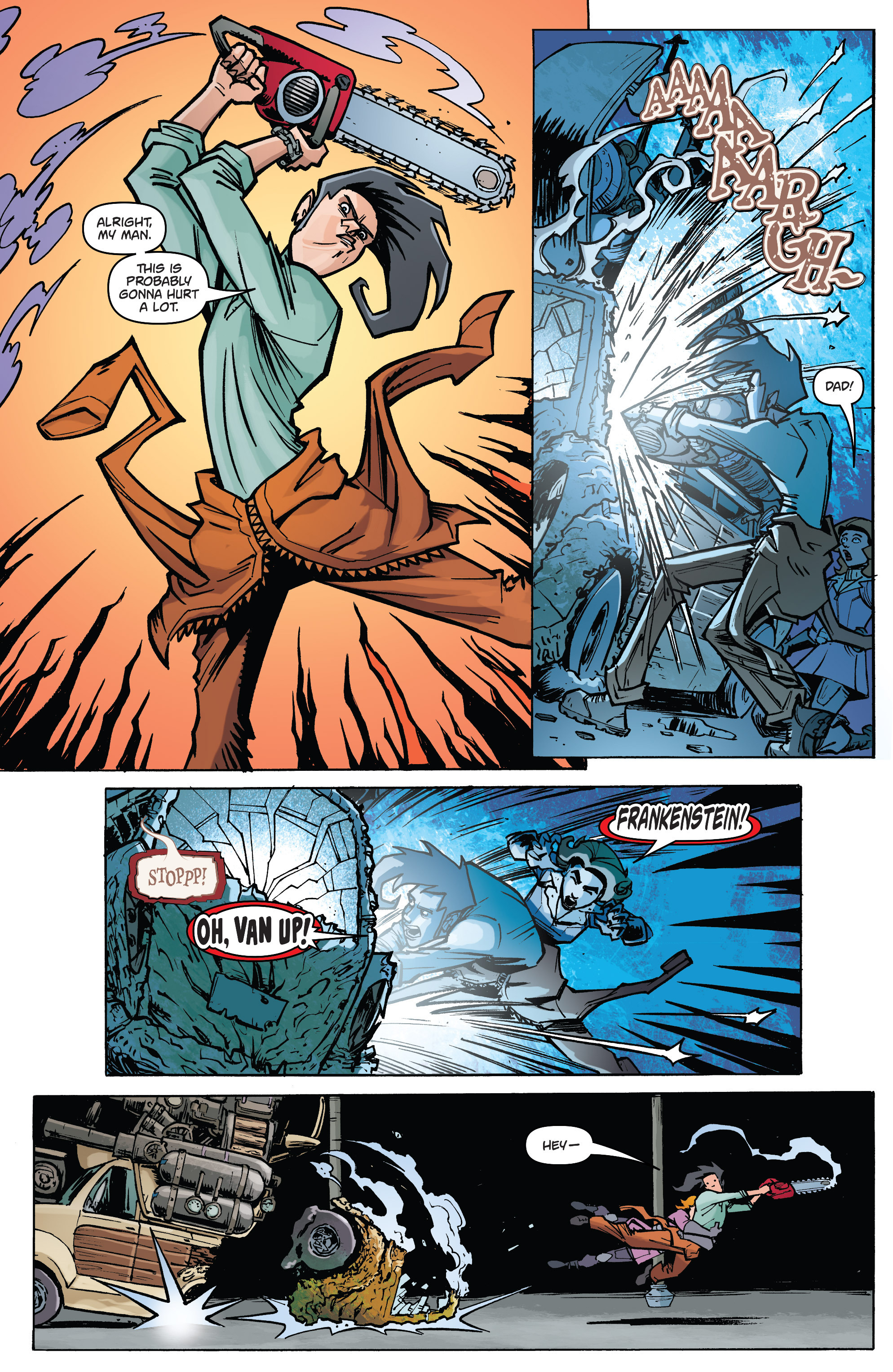 Read online Monster Motors: The Curse of Minivan Helsing comic -  Issue #2 - 12
