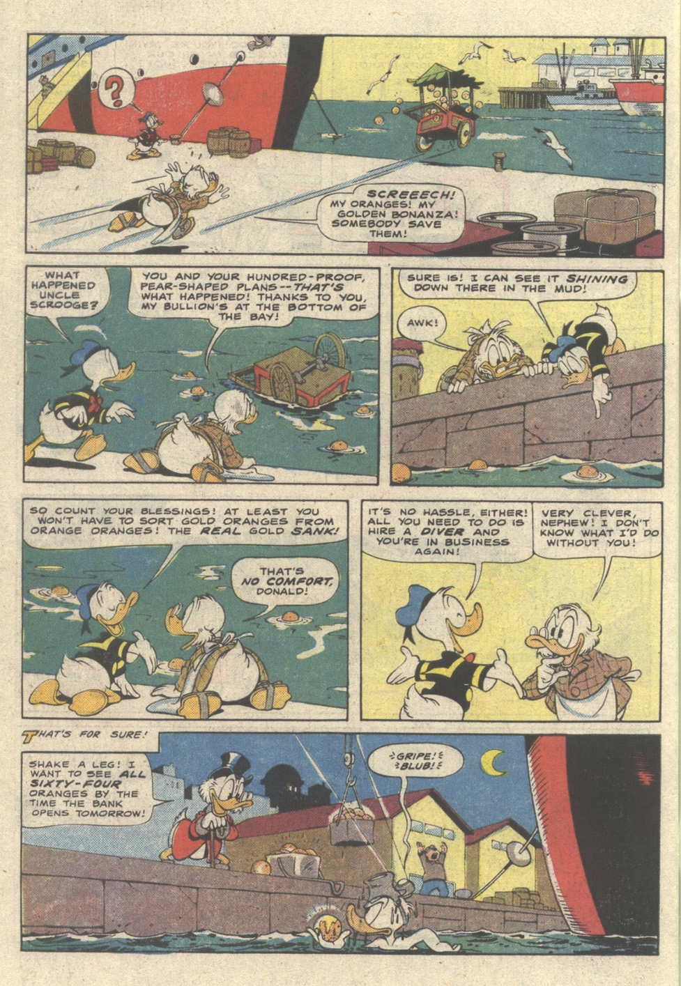 Read online Uncle Scrooge (1953) comic -  Issue #225 - 34
