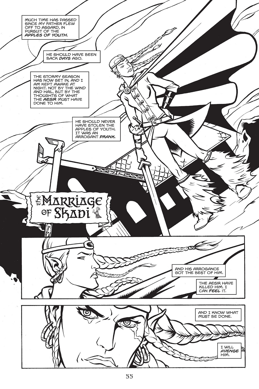 Read online Gods of Asgard comic -  Issue # TPB (Part 1) - 56