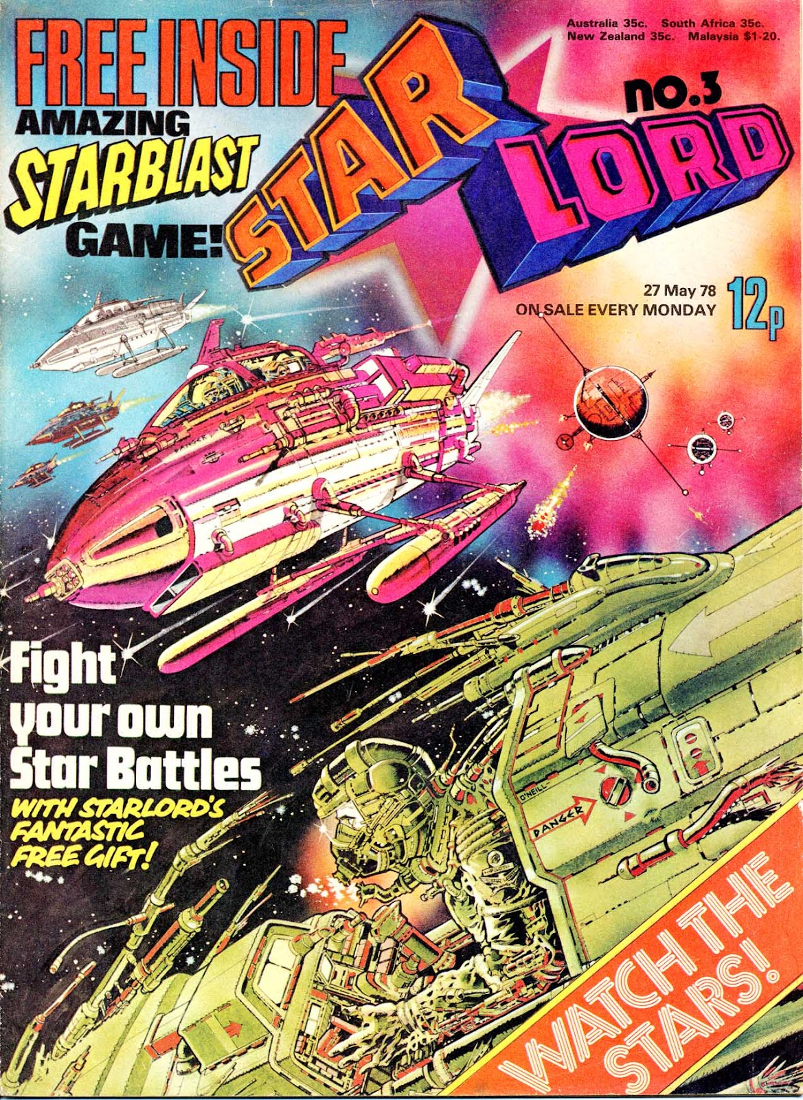 Starlord (1978) issue 3 - Page 1
