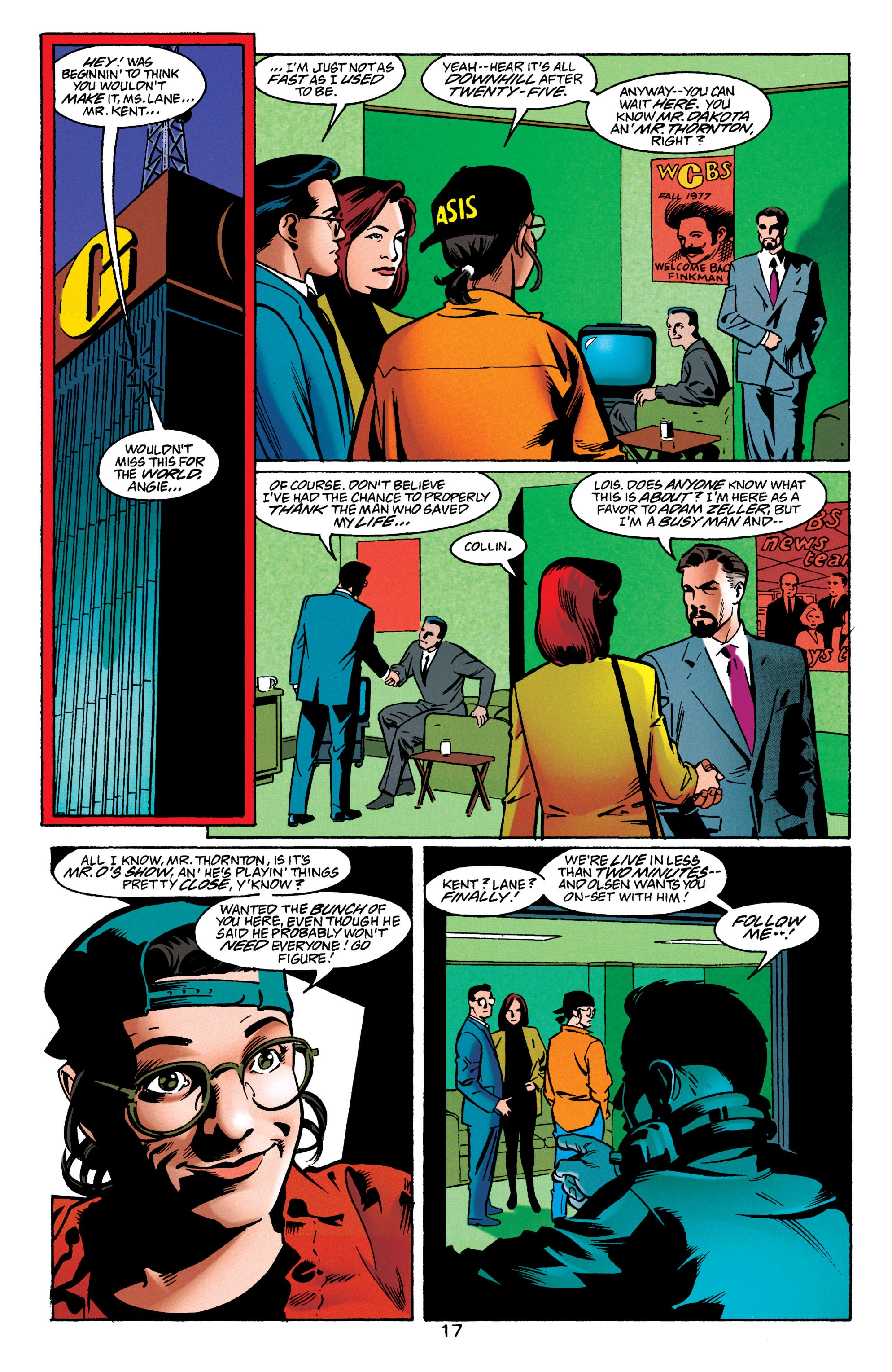 Adventures of Superman (1987) issue 550 - Page 18