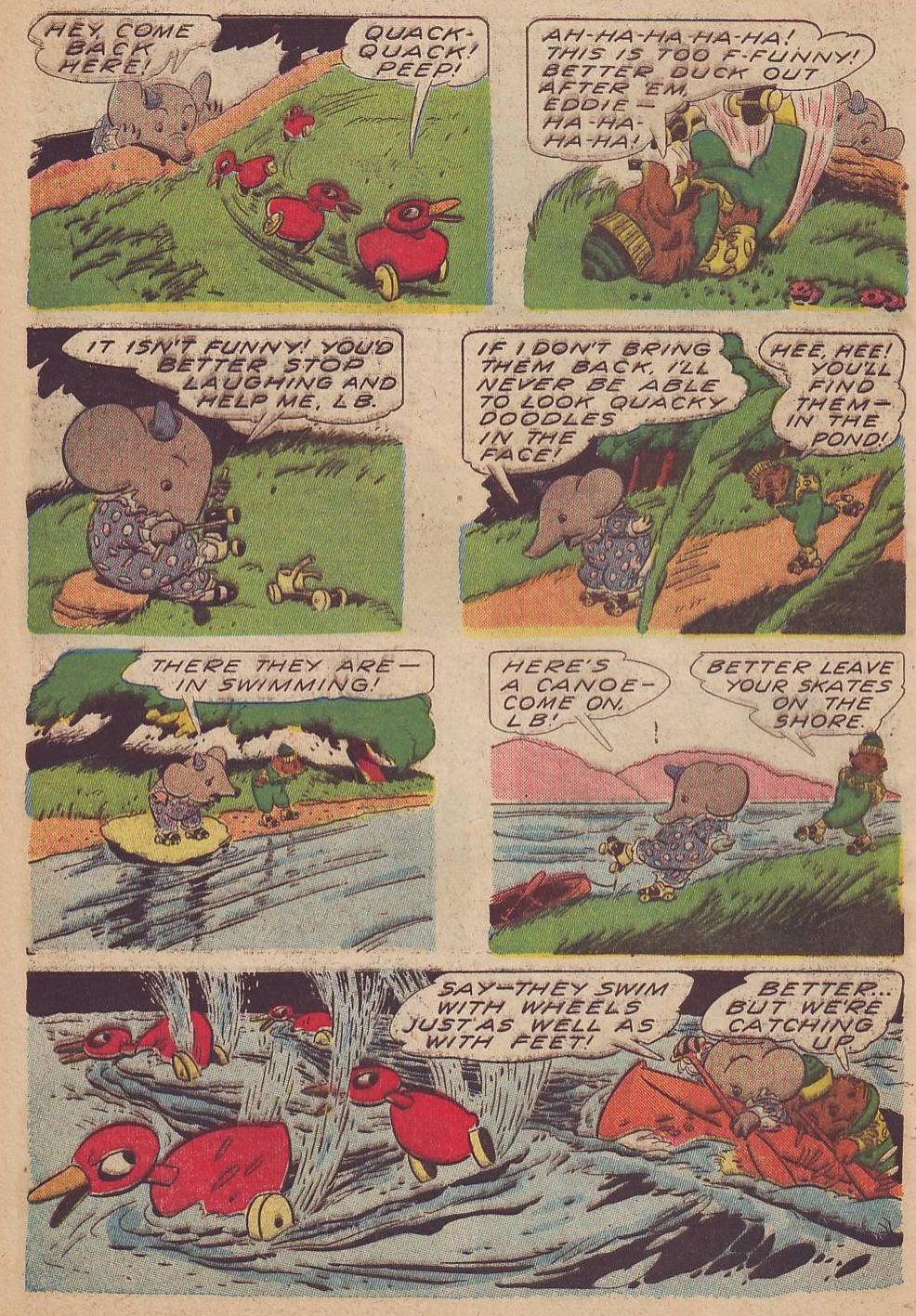 Read online Animal Comics comic -  Issue #13 - 48