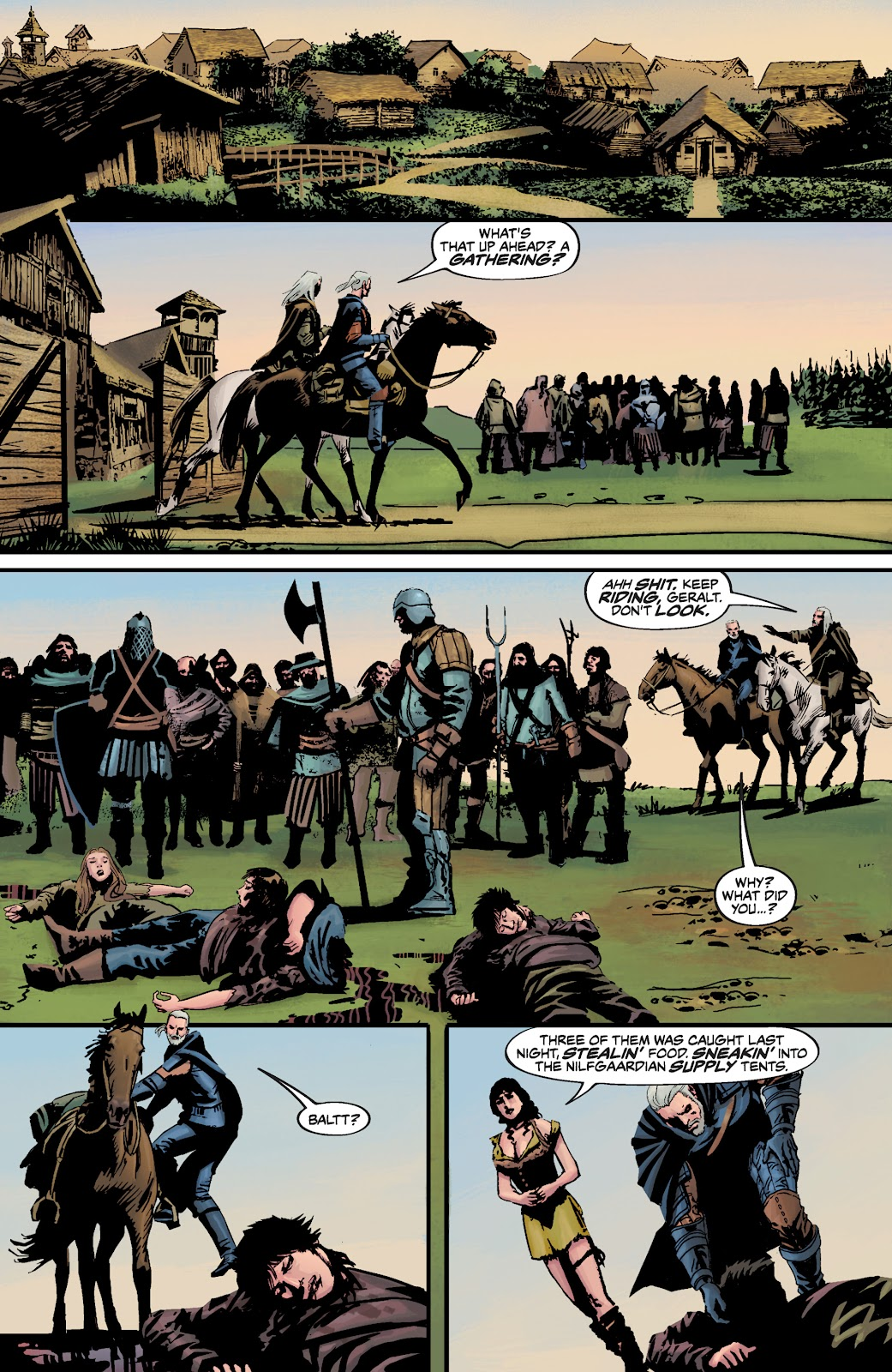 Read online The Witcher Omnibus comic -  Issue # TPB (Part 3) - 81