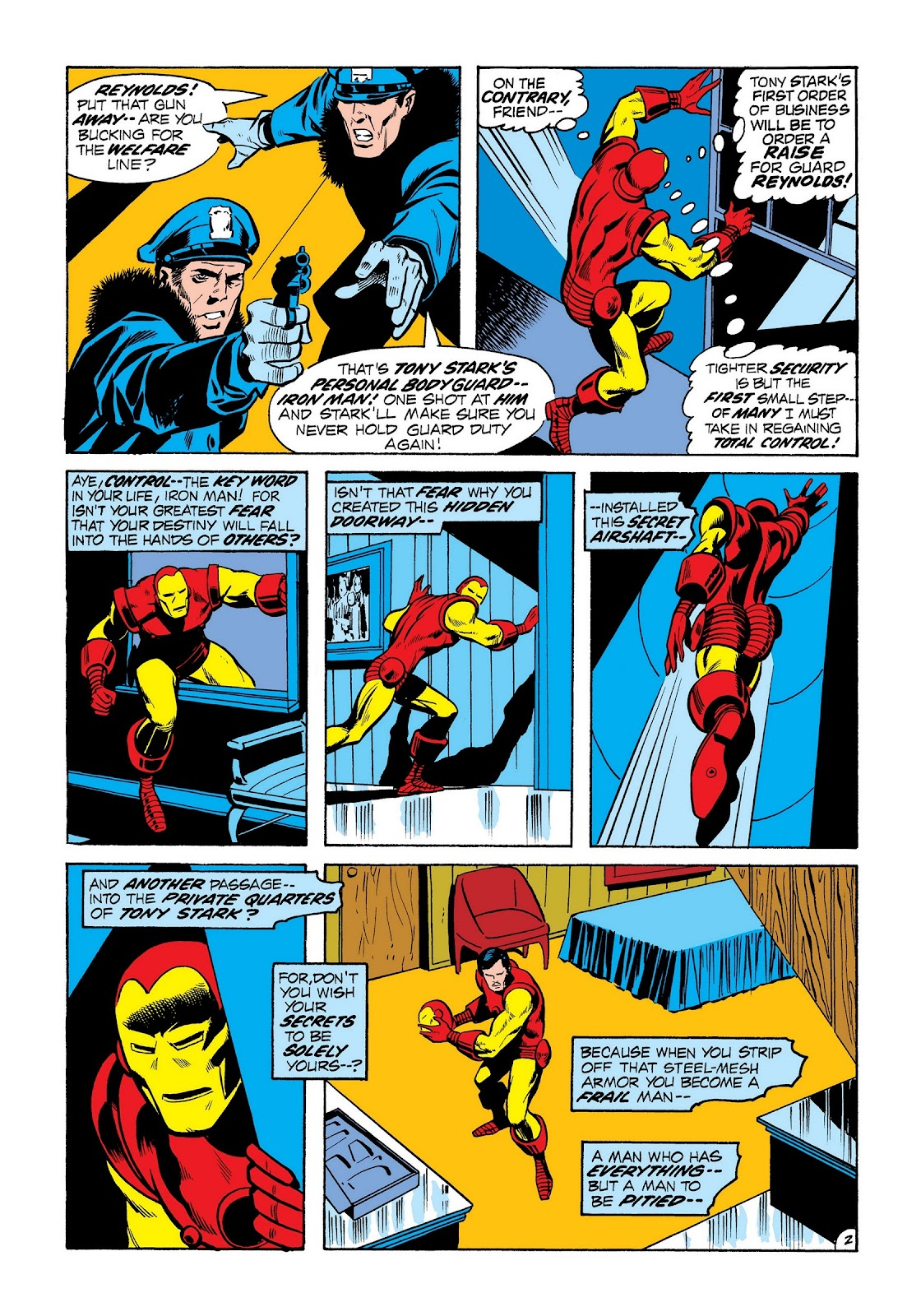 Read online Marvel Masterworks: The Invincible Iron Man comic -  Issue # TPB 8 (Part 2) - 90