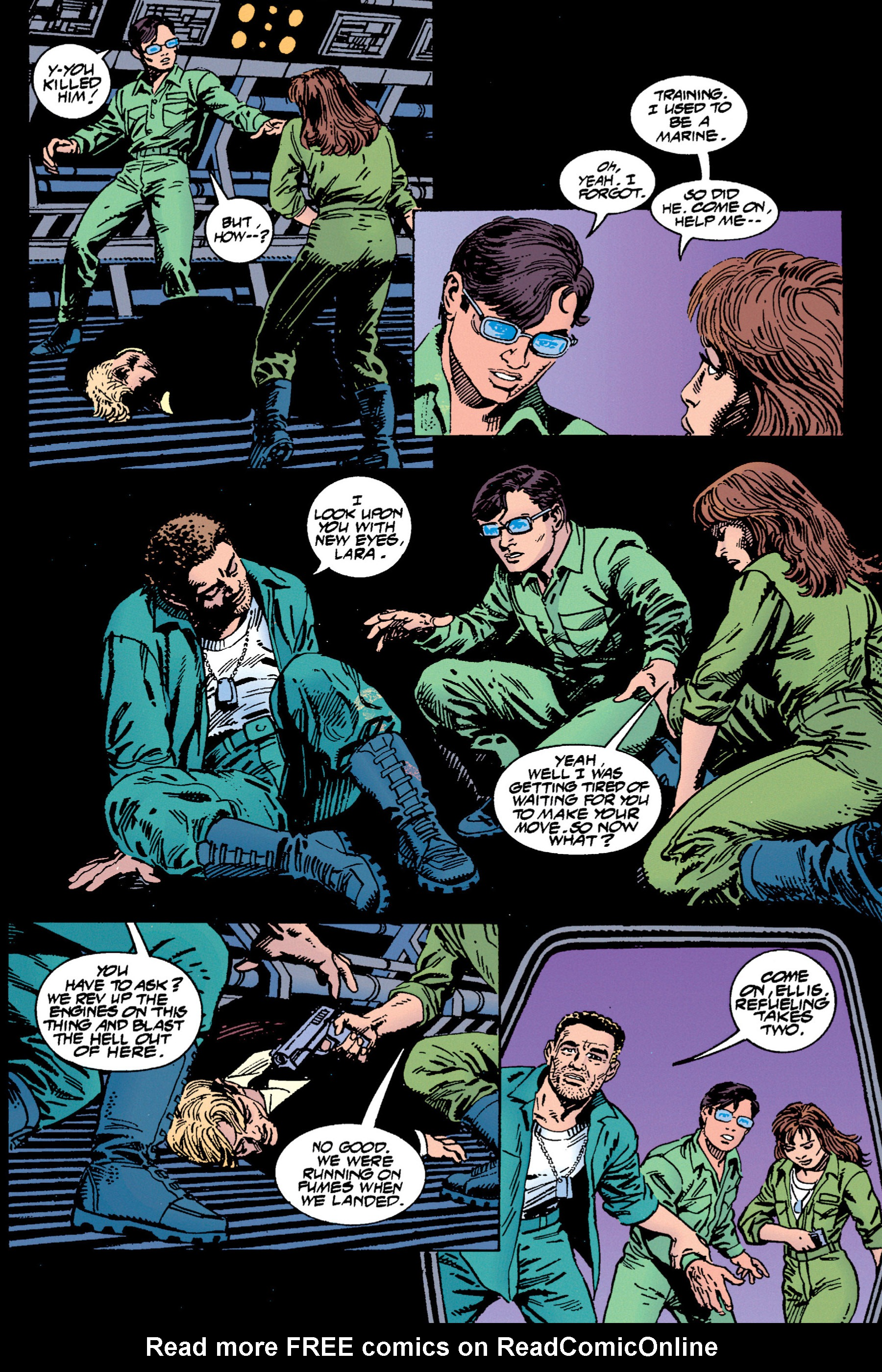 Read online Aliens vs. Predator Omnibus comic -  Issue # _TPB 1 Part 3 - 85