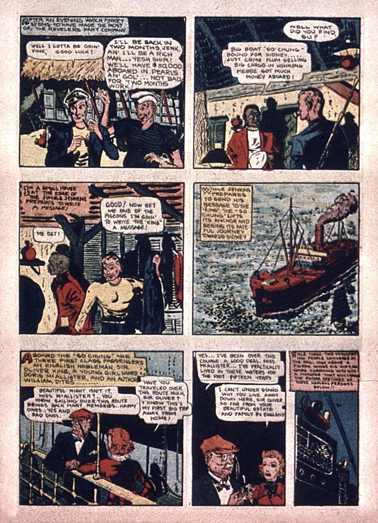 Read online Amazing Man Comics comic -  Issue #7 - 18