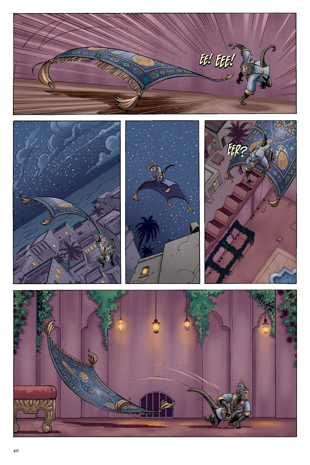 Read online Disney Aladdin: Four Tales of Agrabah comic -  Issue # TPB - 40