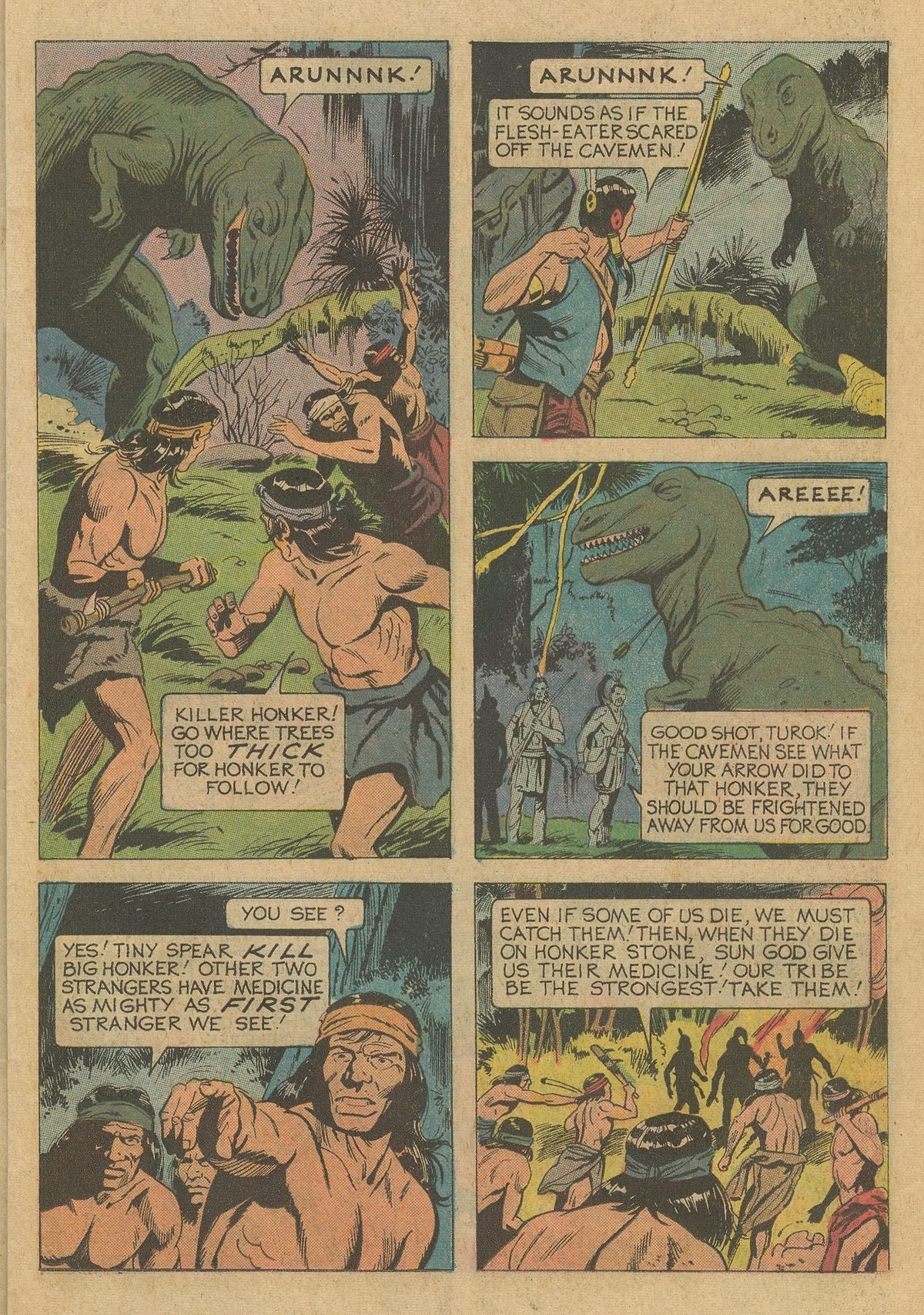 Read online Turok, Son of Stone comic -  Issue #95 - 11
