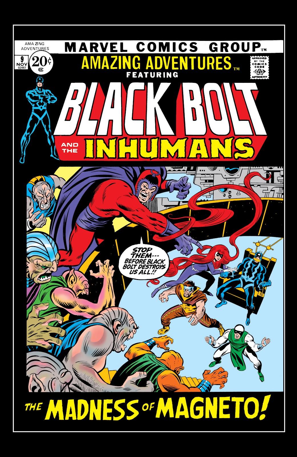 Read online Marvel Masterworks: The Inhumans comic -  Issue # TPB 1 (Part 2) - 57