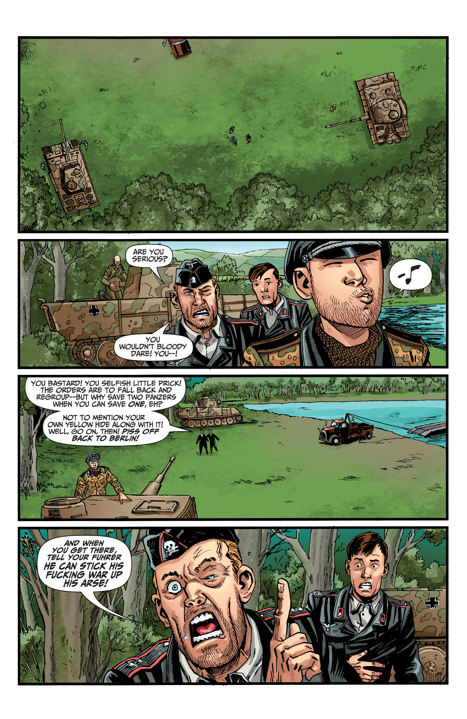 Read online World of Tanks comic -  Issue #5 - 8