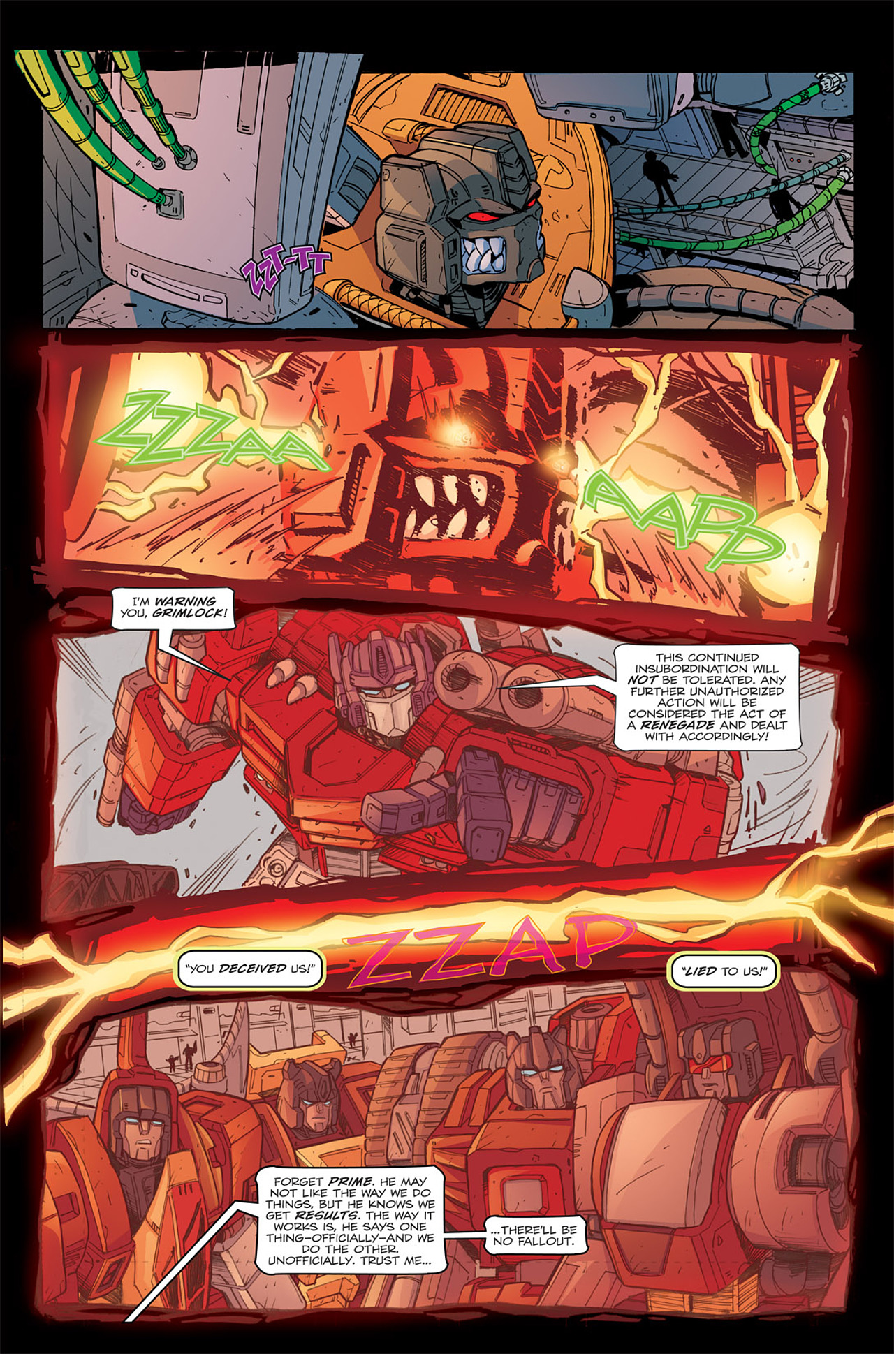 Read online Transformers Spotlight: Grimlock comic -  Issue # Full - 8