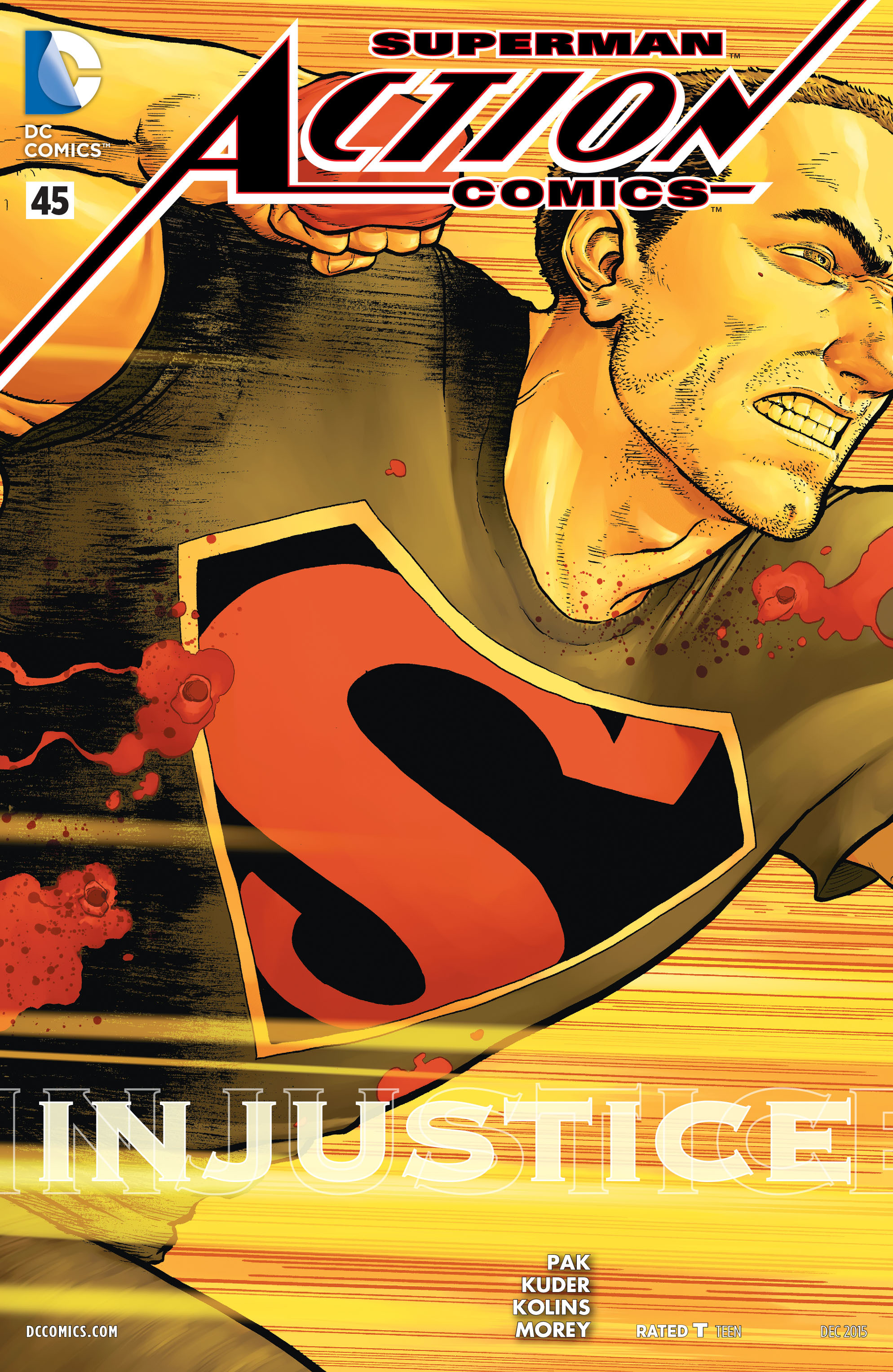 Read online Action Comics (2011) comic -  Issue #45 - 1