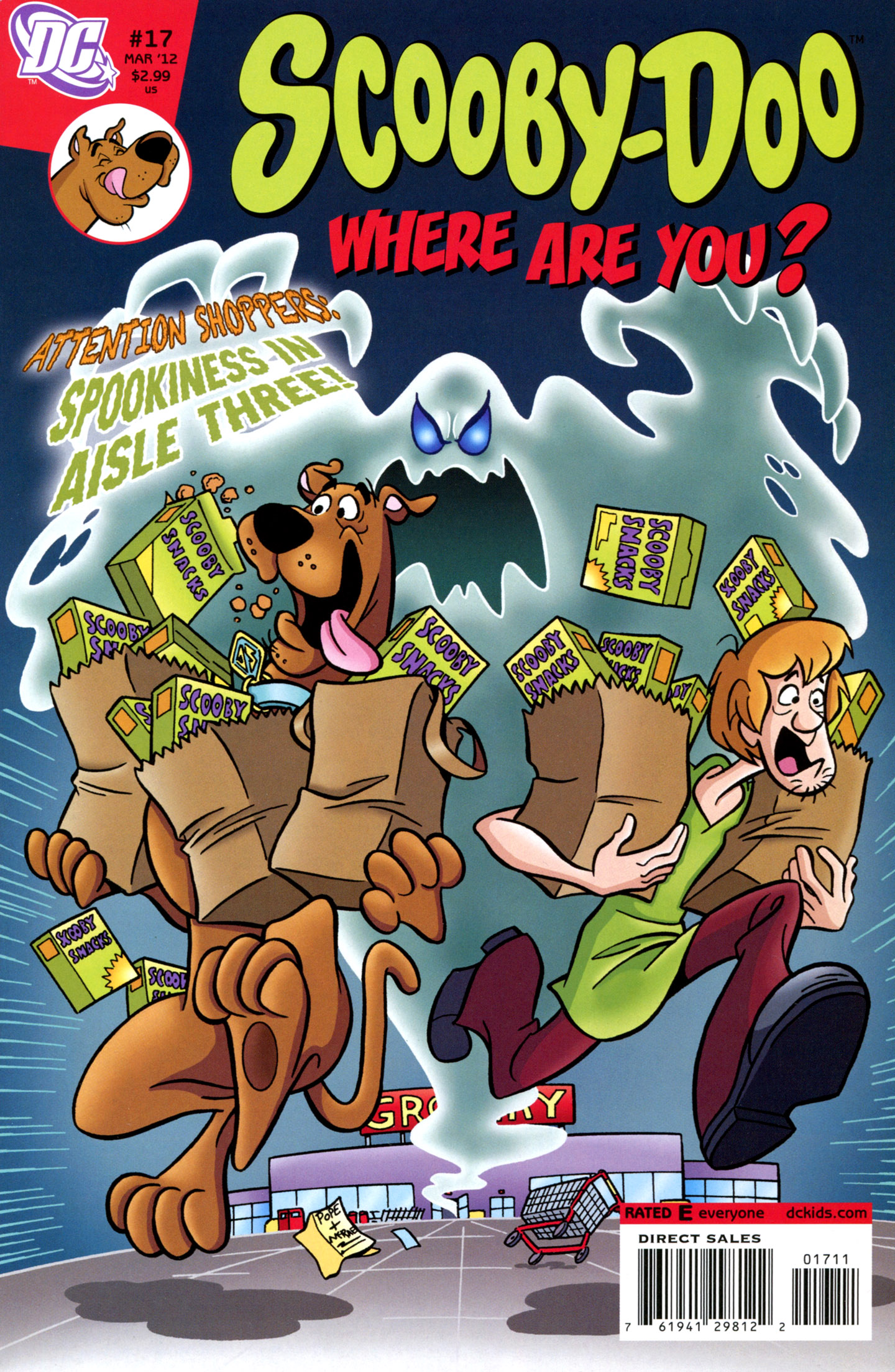 Read online Scooby-Doo: Where Are You? comic -  Issue #17 - 1
