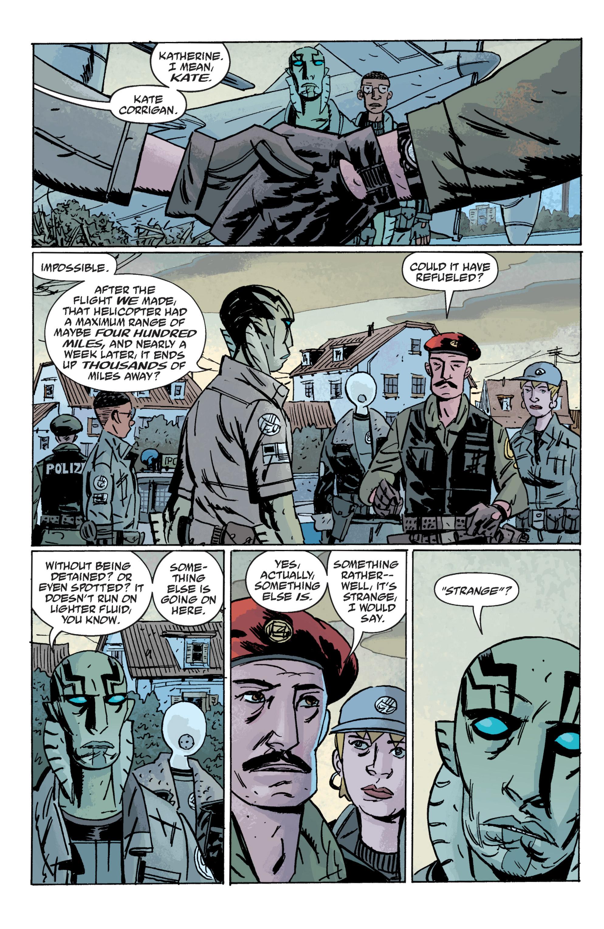 Read online B.P.R.D. (2003) comic -  Issue # TPB 10 - 70