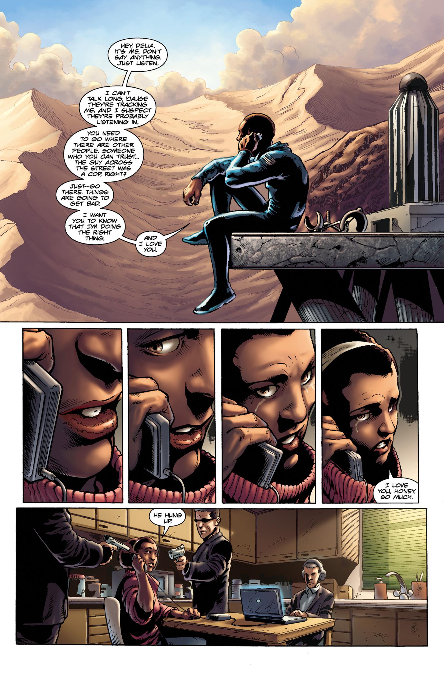 Read online Skyman comic -  Issue #3 - 9