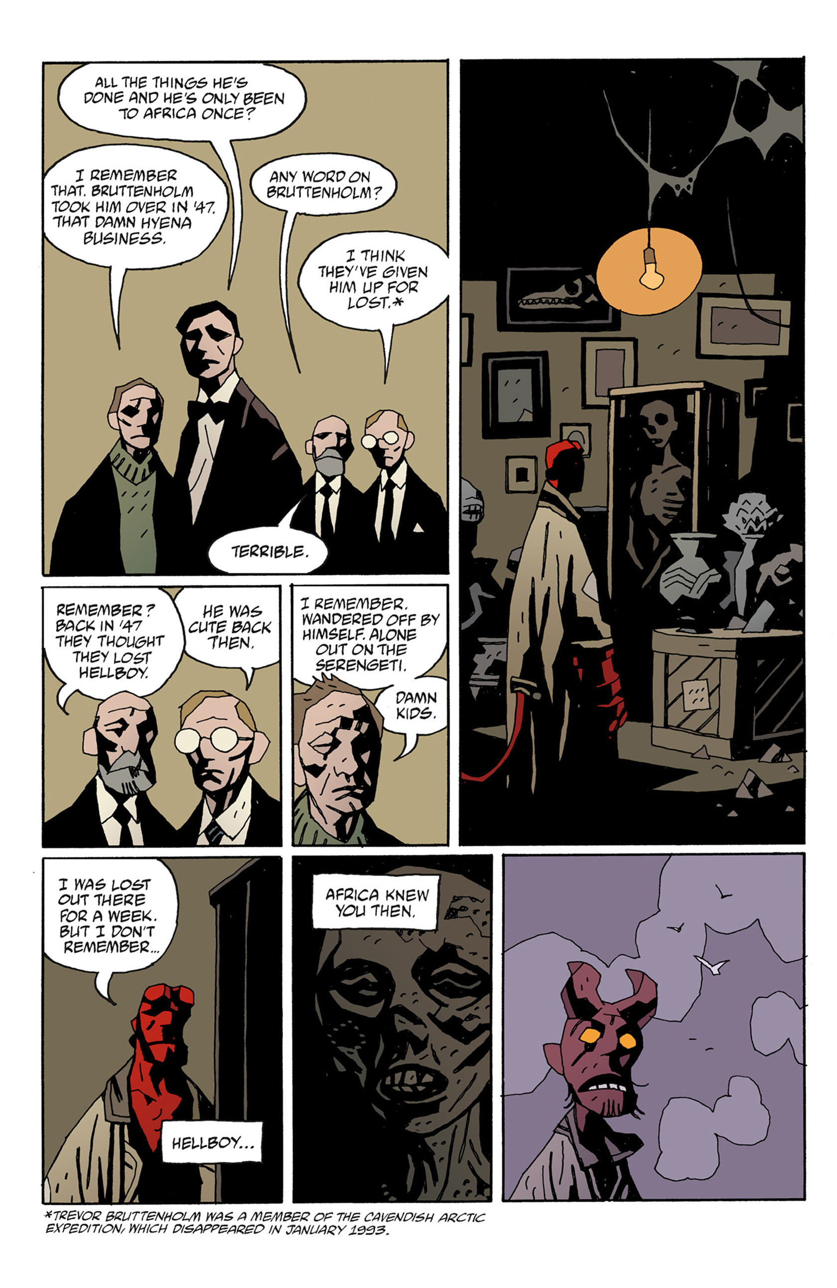 Read online Hellboy: The Troll Witch and Others comic -  Issue # TPB - 86