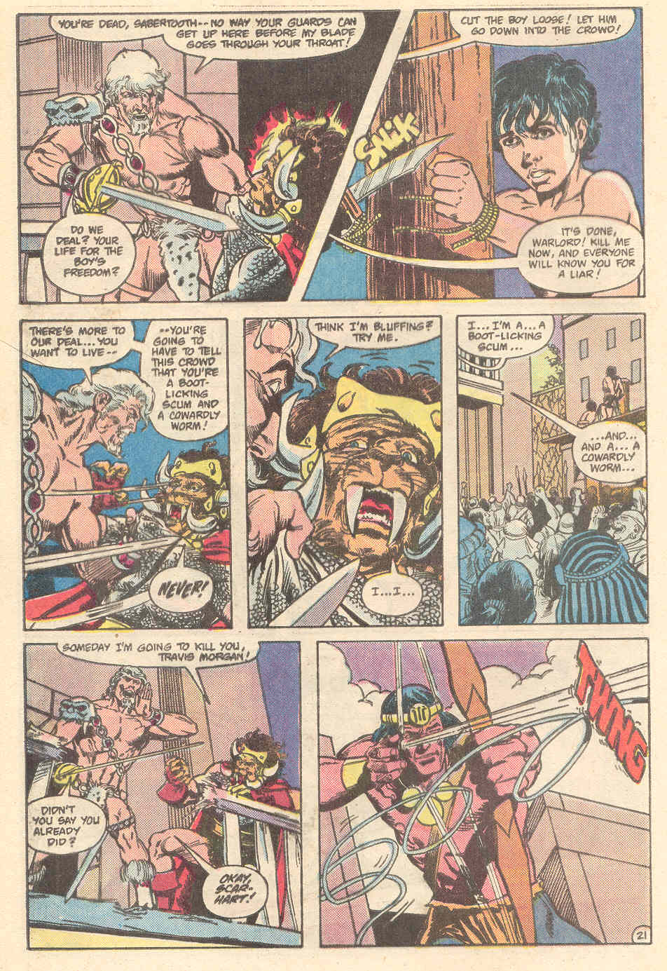 Warlord (1976) issue 89 - Page 21