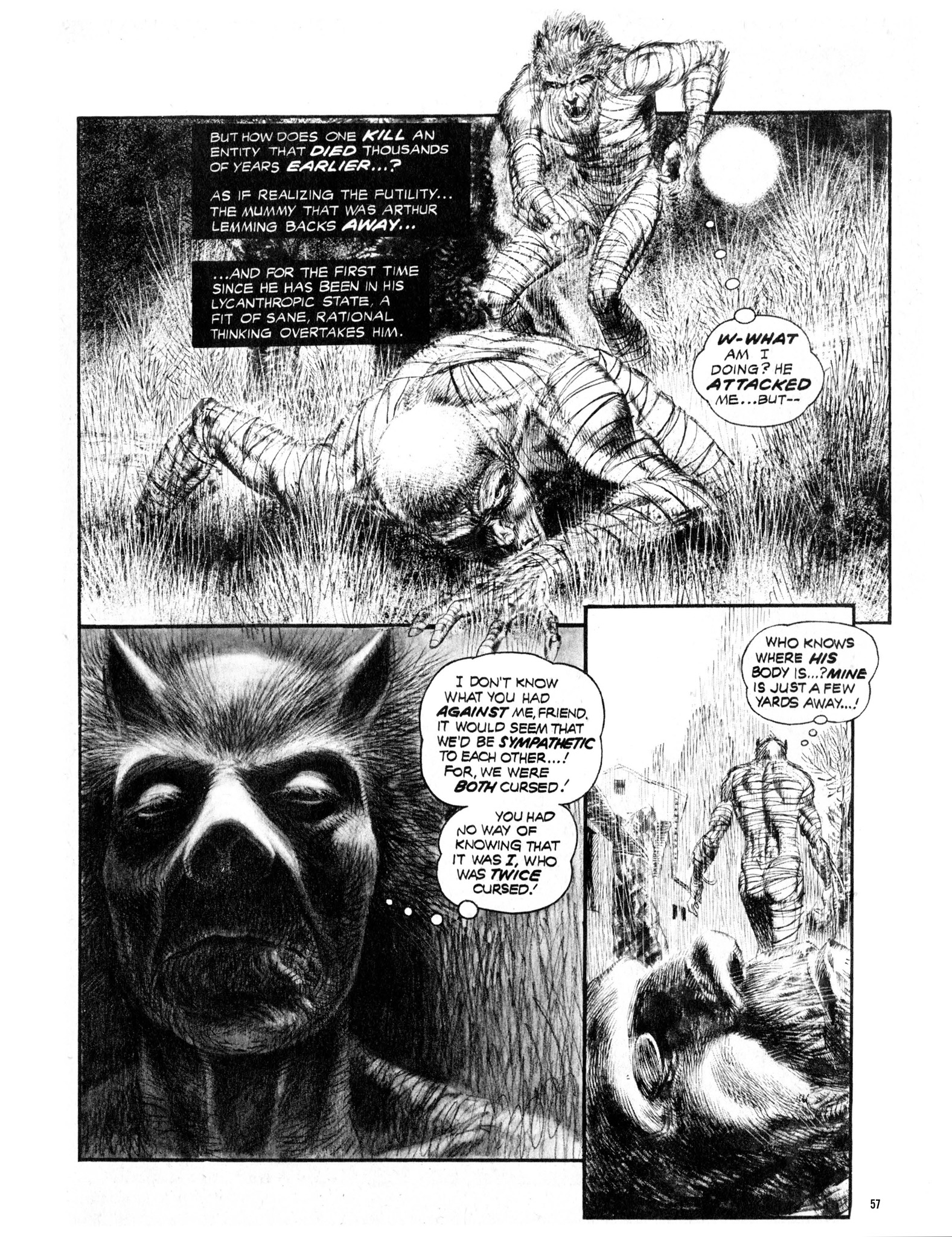 Read online Eerie Archives comic -  Issue # TPB 13 - 58