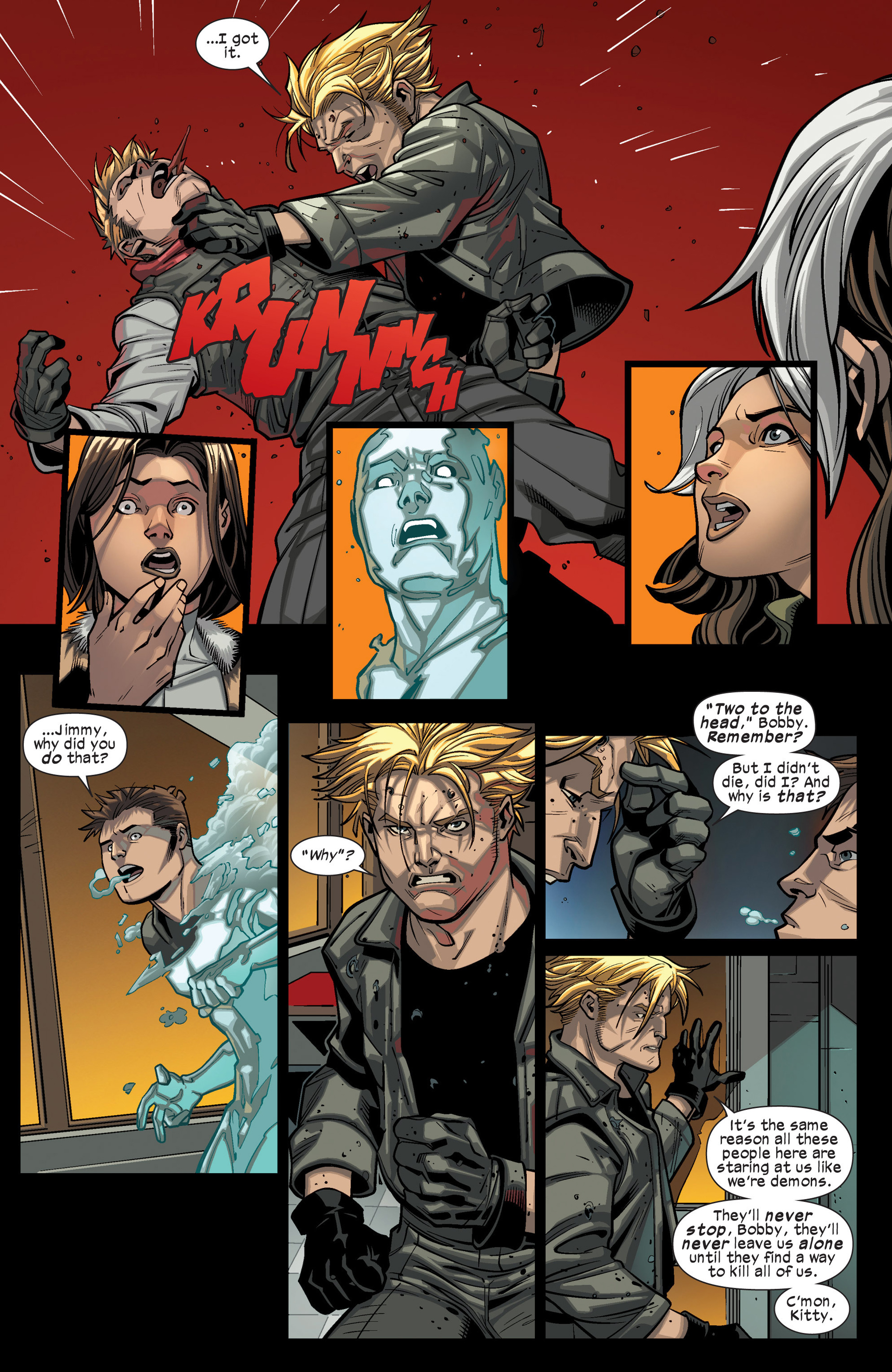 Read online Ultimate Comics X-Men comic -  Issue #15 - 10