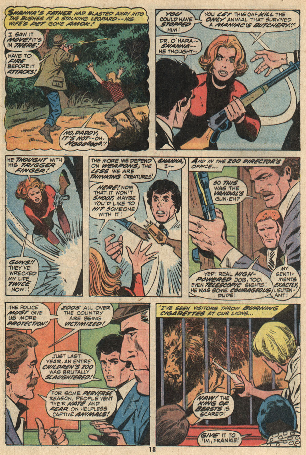Read online Shanna, the She-Devil (1972) comic -  Issue #1 - 14
