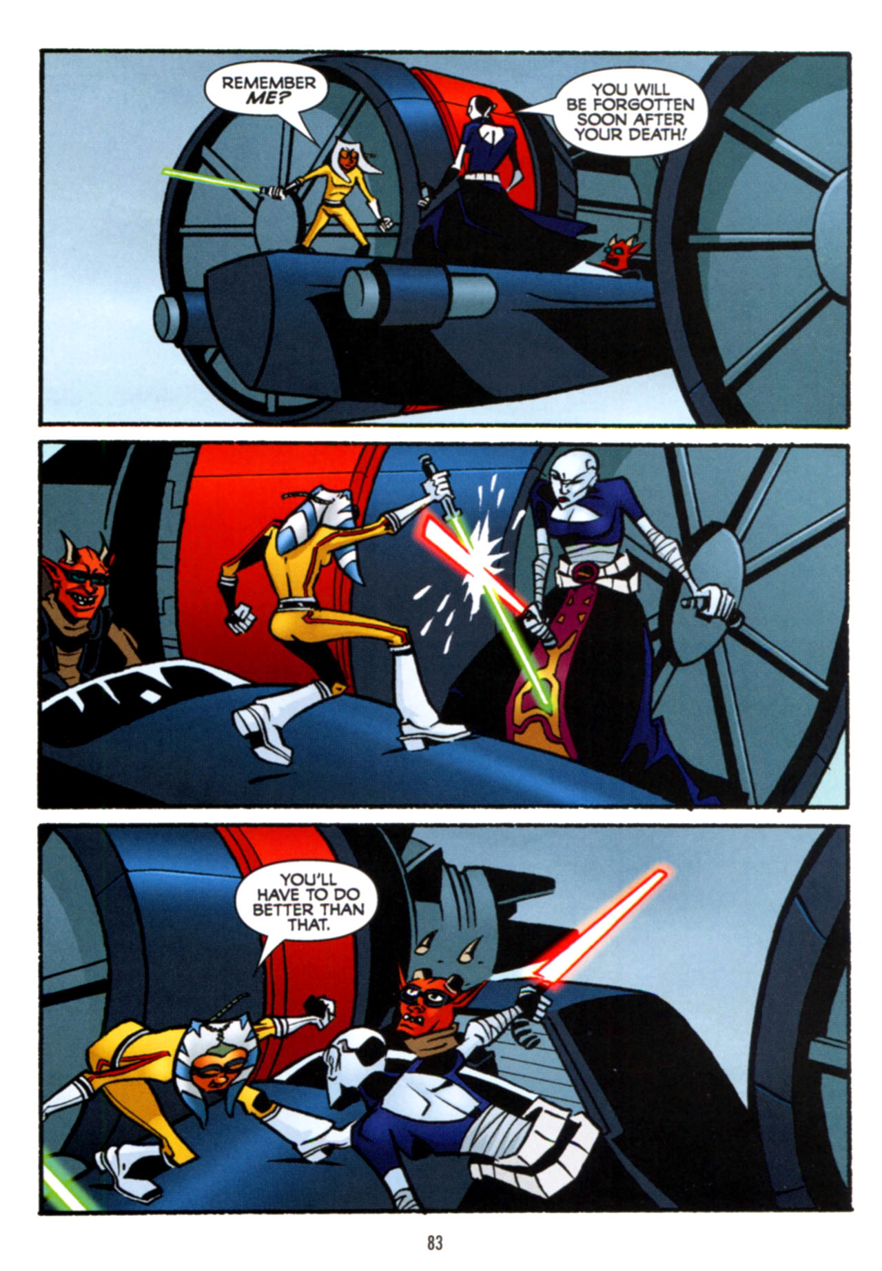 Read online Star Wars: The Clone Wars - Crash Course comic -  Issue # Full - 84