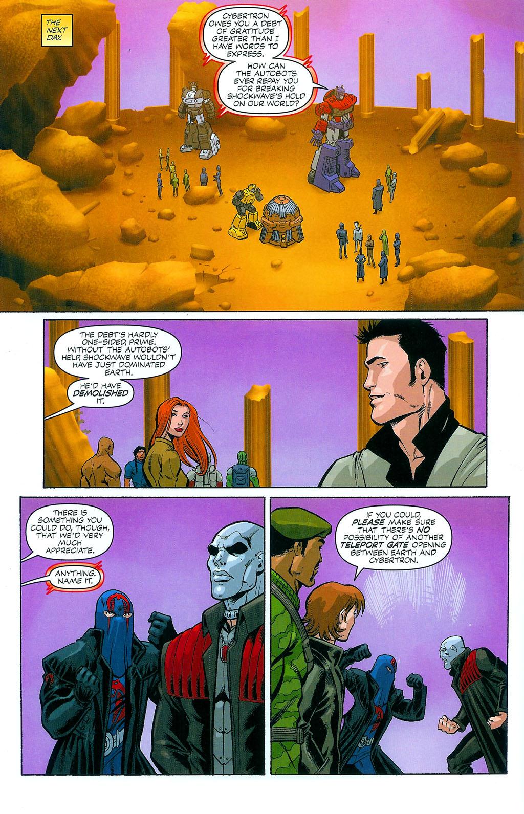 G.I. Joe vs. The Transformers II Issue #4 #5 - English 18