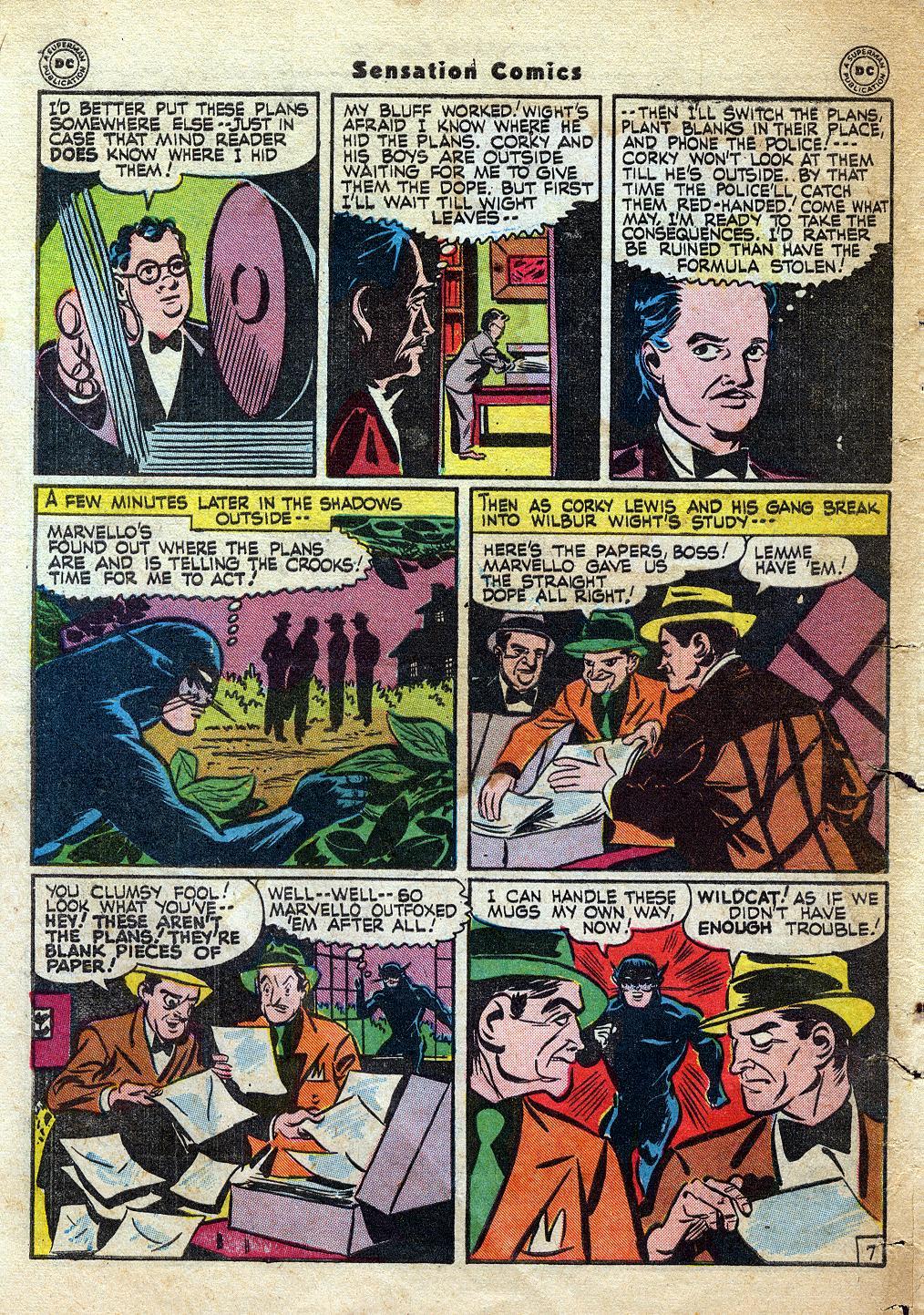 Read online Sensation (Mystery) Comics comic -  Issue #60 - 48