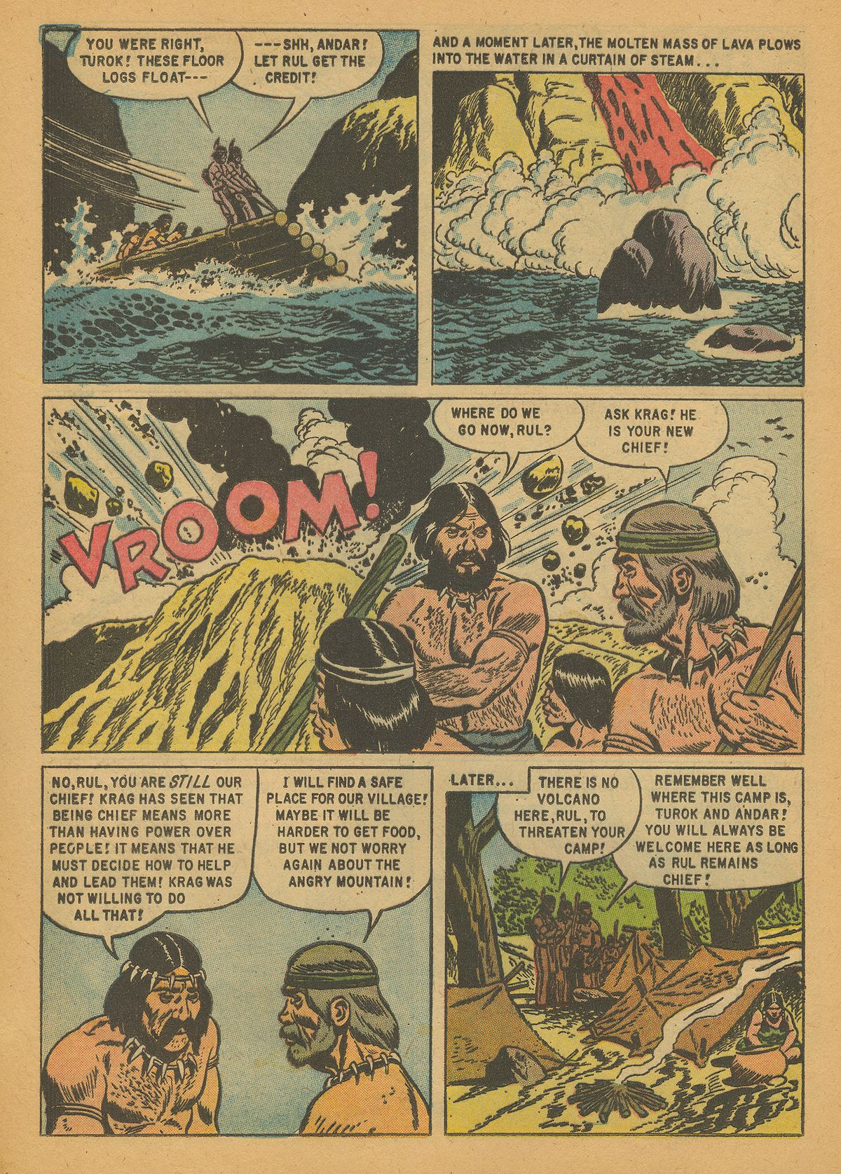 Read online Turok, Son of Stone comic -  Issue #14 - 16