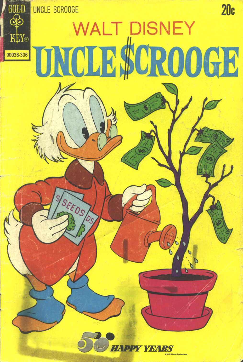 Read online Uncle Scrooge (1953) comic -  Issue #105 - 1