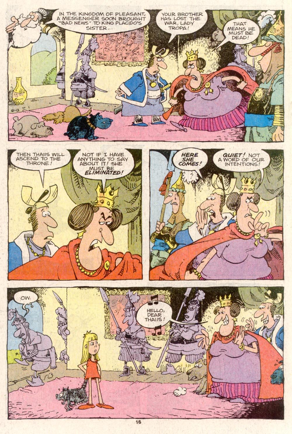 Read online Sergio Aragonés Groo the Wanderer comic -  Issue #80 - 12