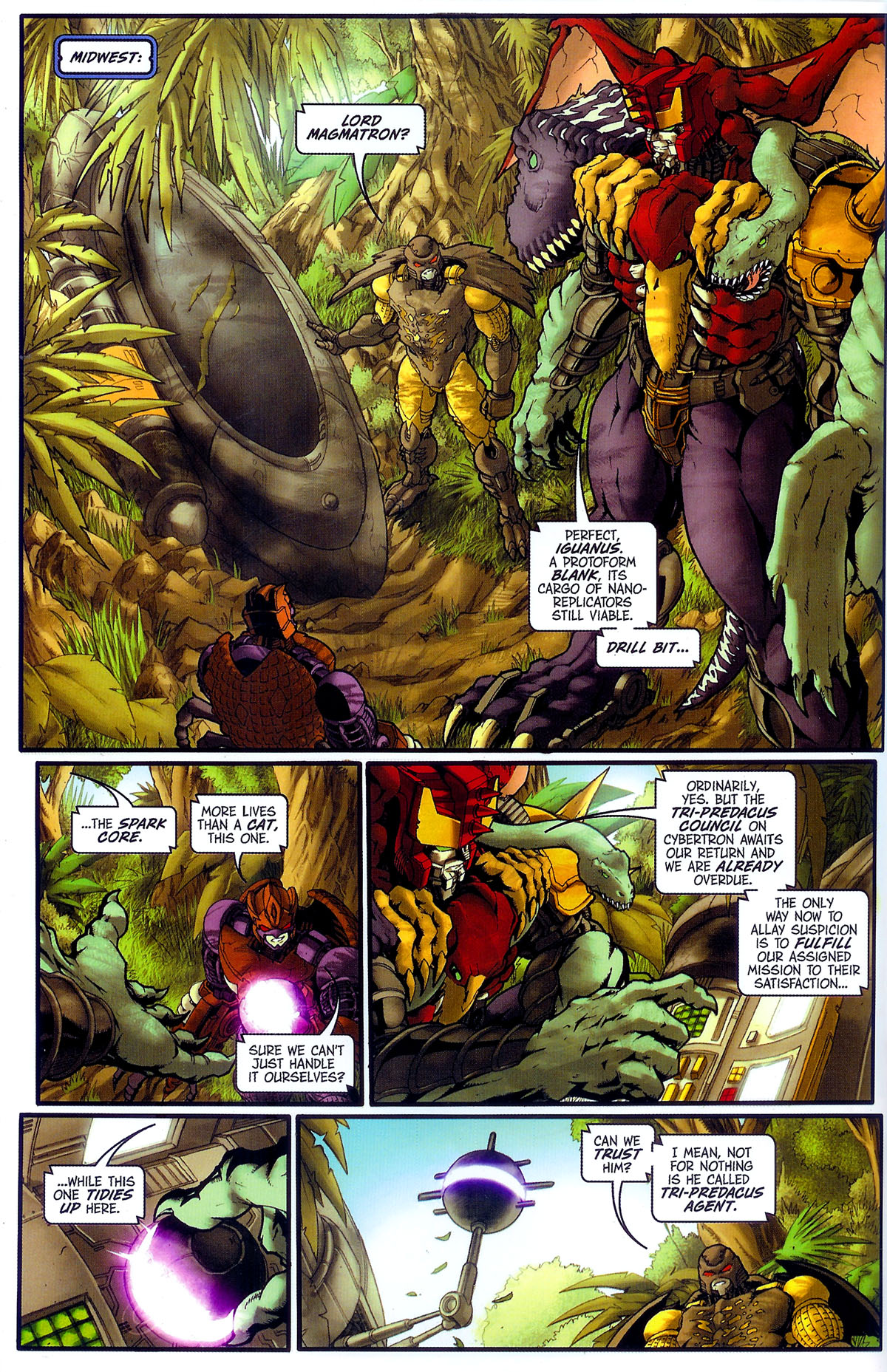 Read online Transformers, Beast Wars: The Gathering comic -  Issue #3 - 13