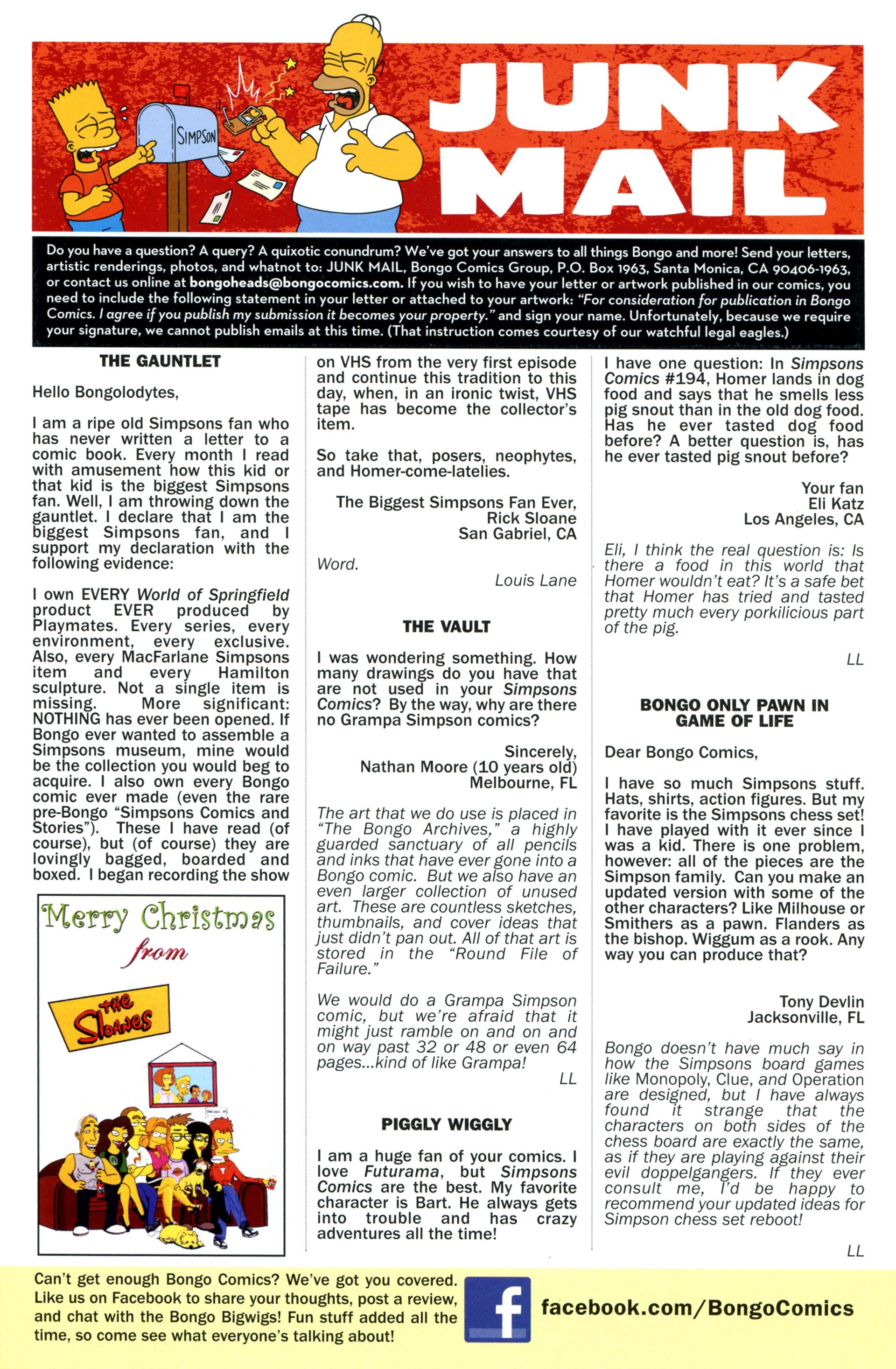 Read online Simpsons Comics comic -  Issue #204 - 28