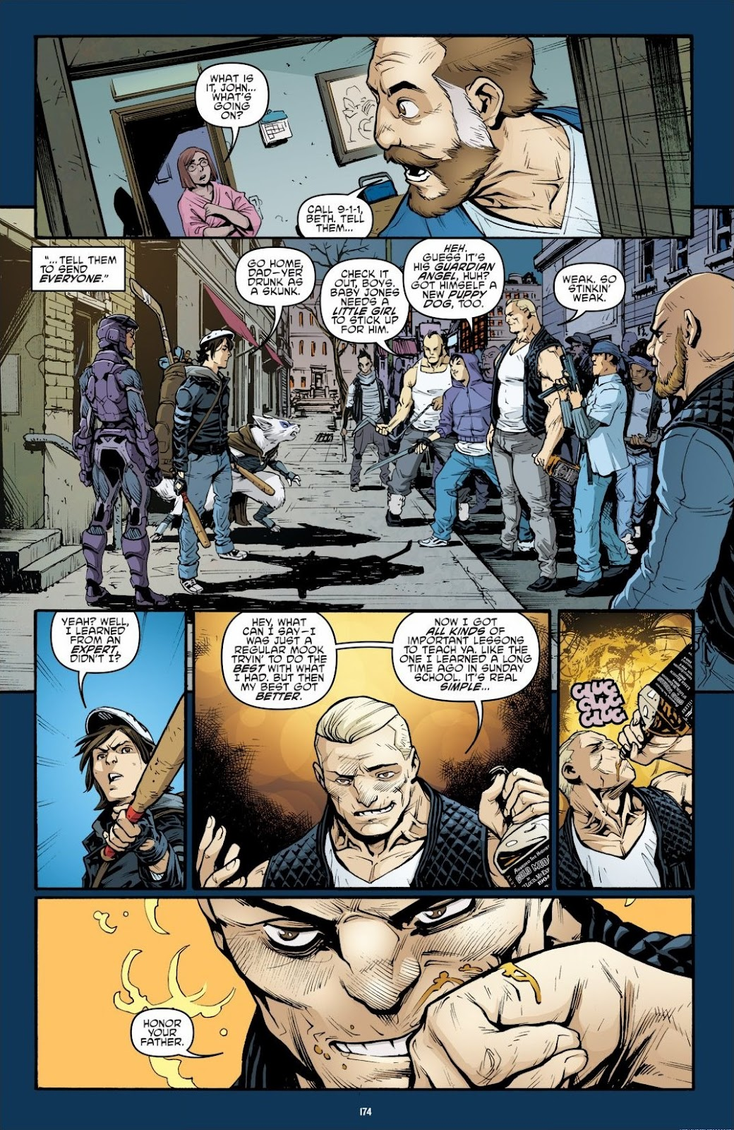 Read online Teenage Mutant Ninja Turtles: The IDW Collection comic -  Issue # TPB 6 (Part 2) - 72