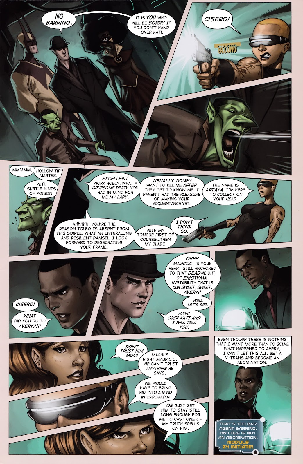 Read online Vescell comic -  Issue #3 - 5