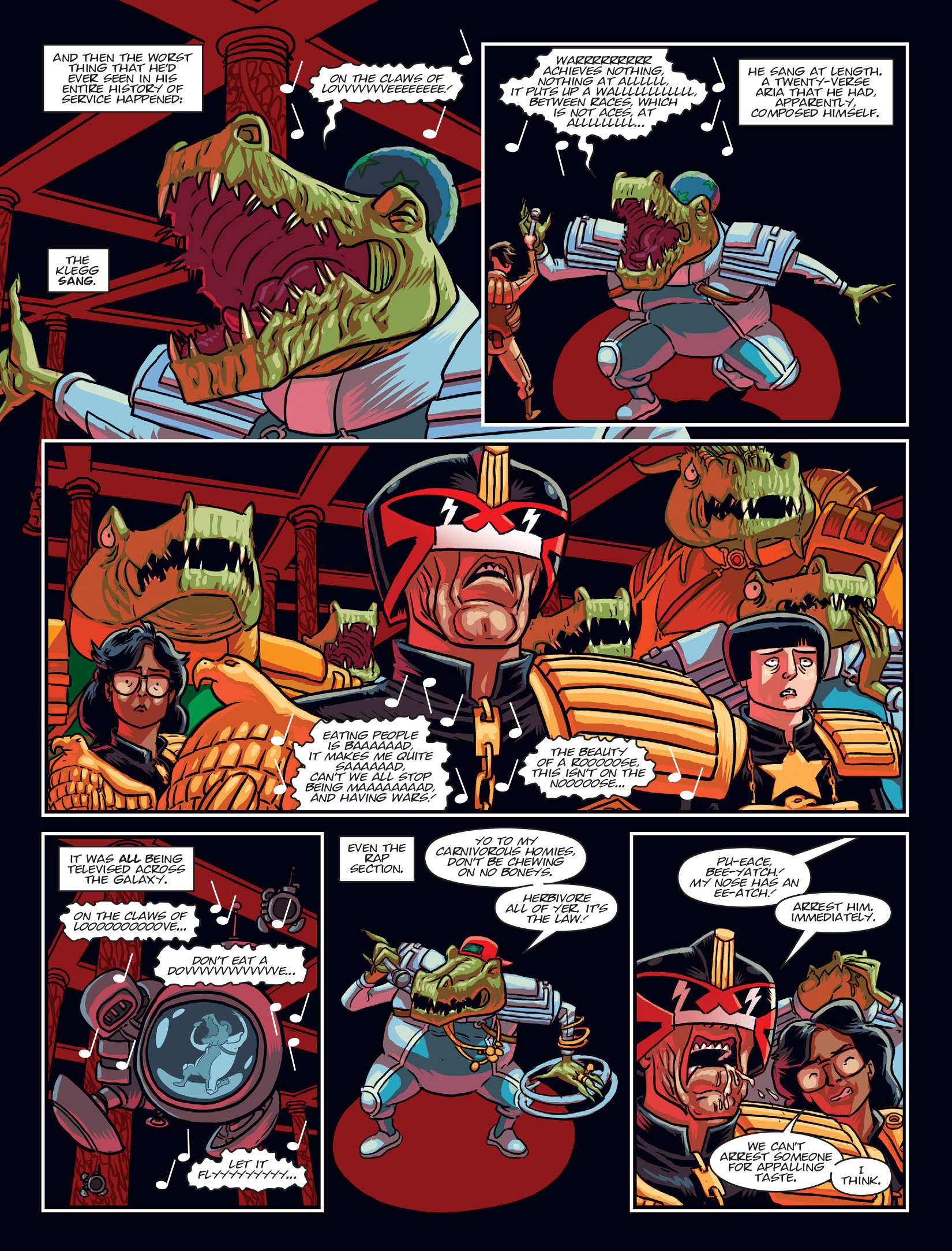 Read online 2000 AD comic -  Issue #1972 - 7