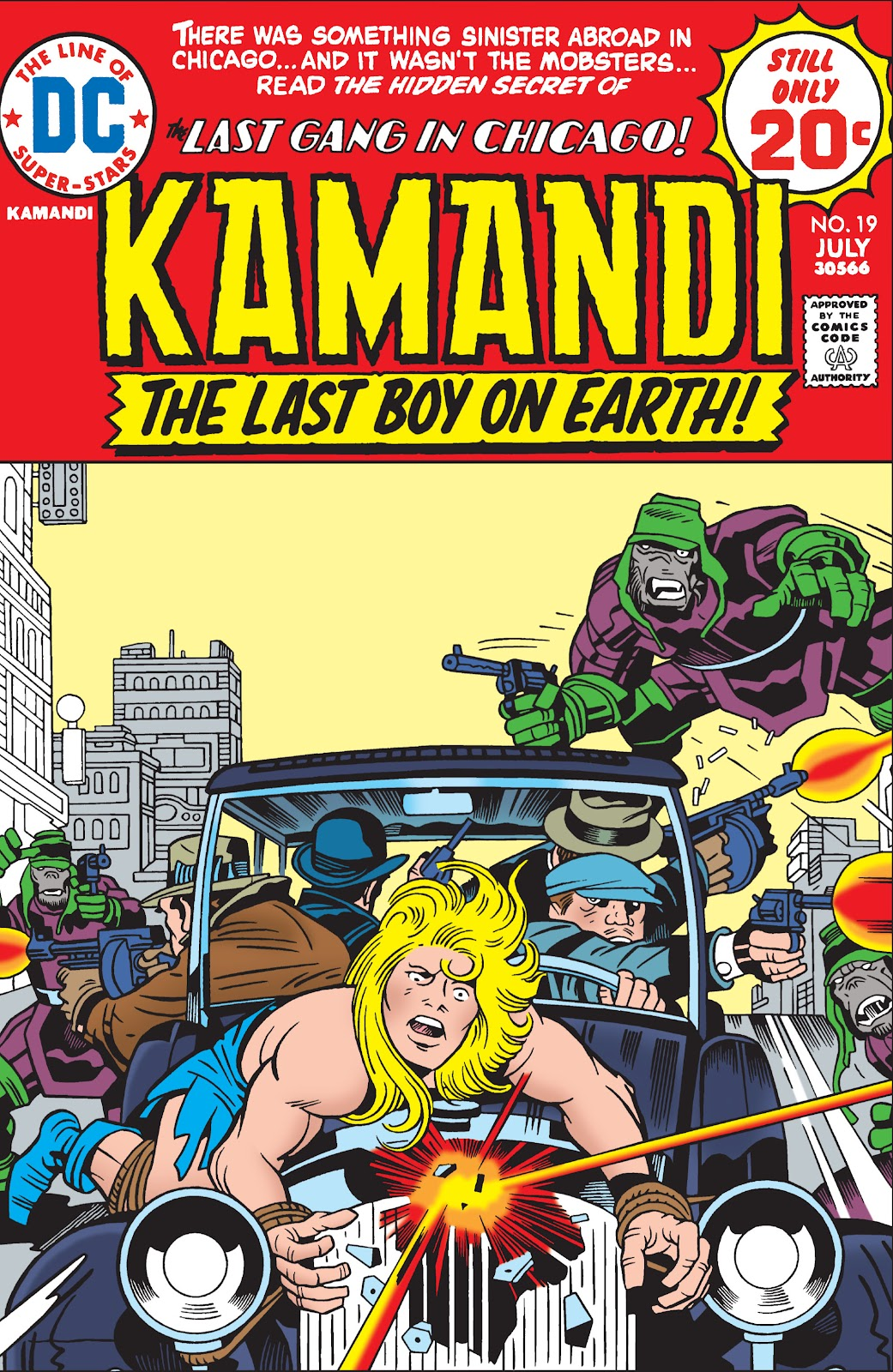 Kamandi, The Last Boy On Earth issue 19 - Page 1