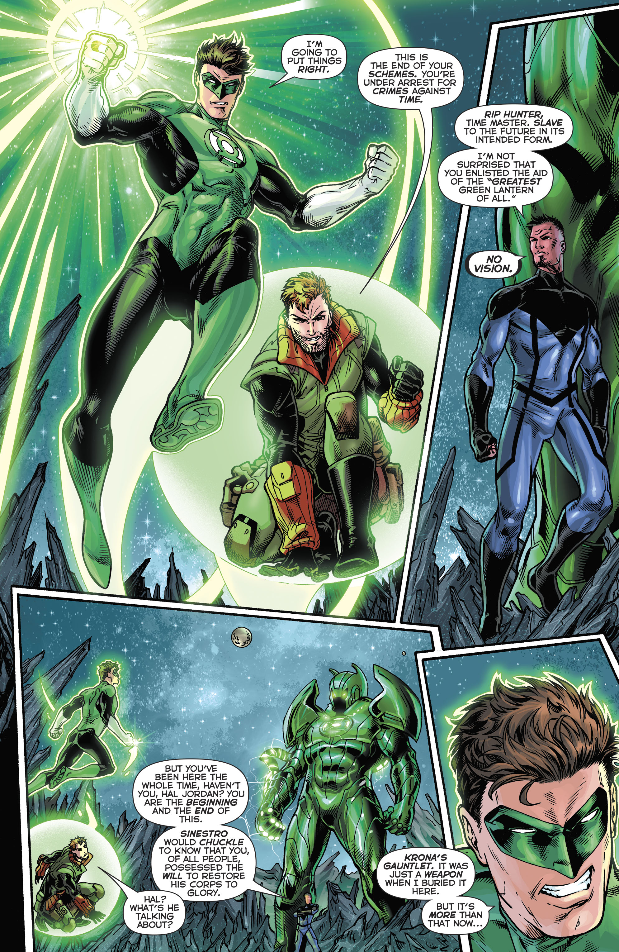 Read online Hal Jordan And The Green Lantern Corps comic -  Issue #21 - 10