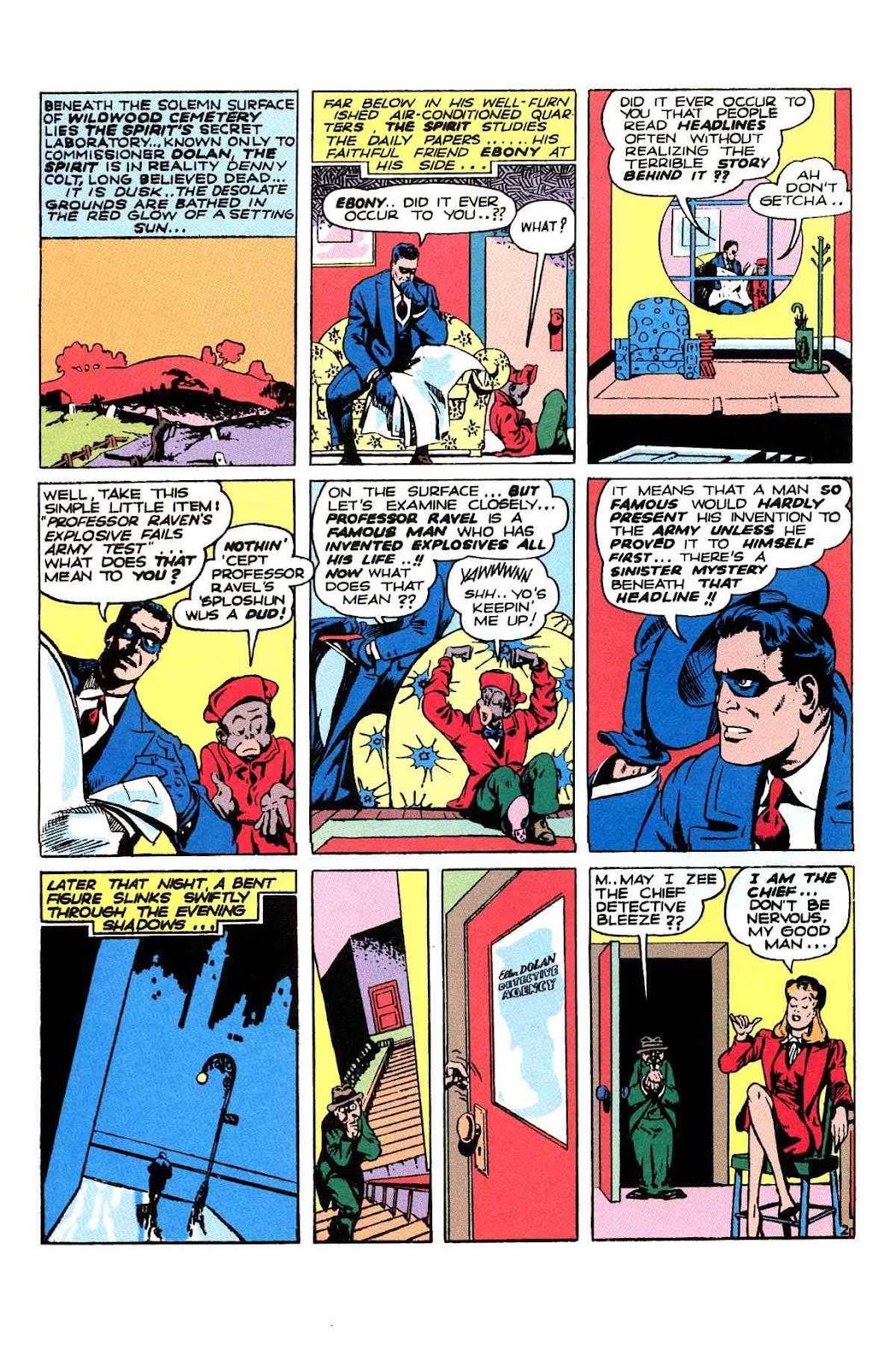 Read online Will Eisner's The Spirit Archives comic -  Issue # TPB 2 (Part 2) - 30