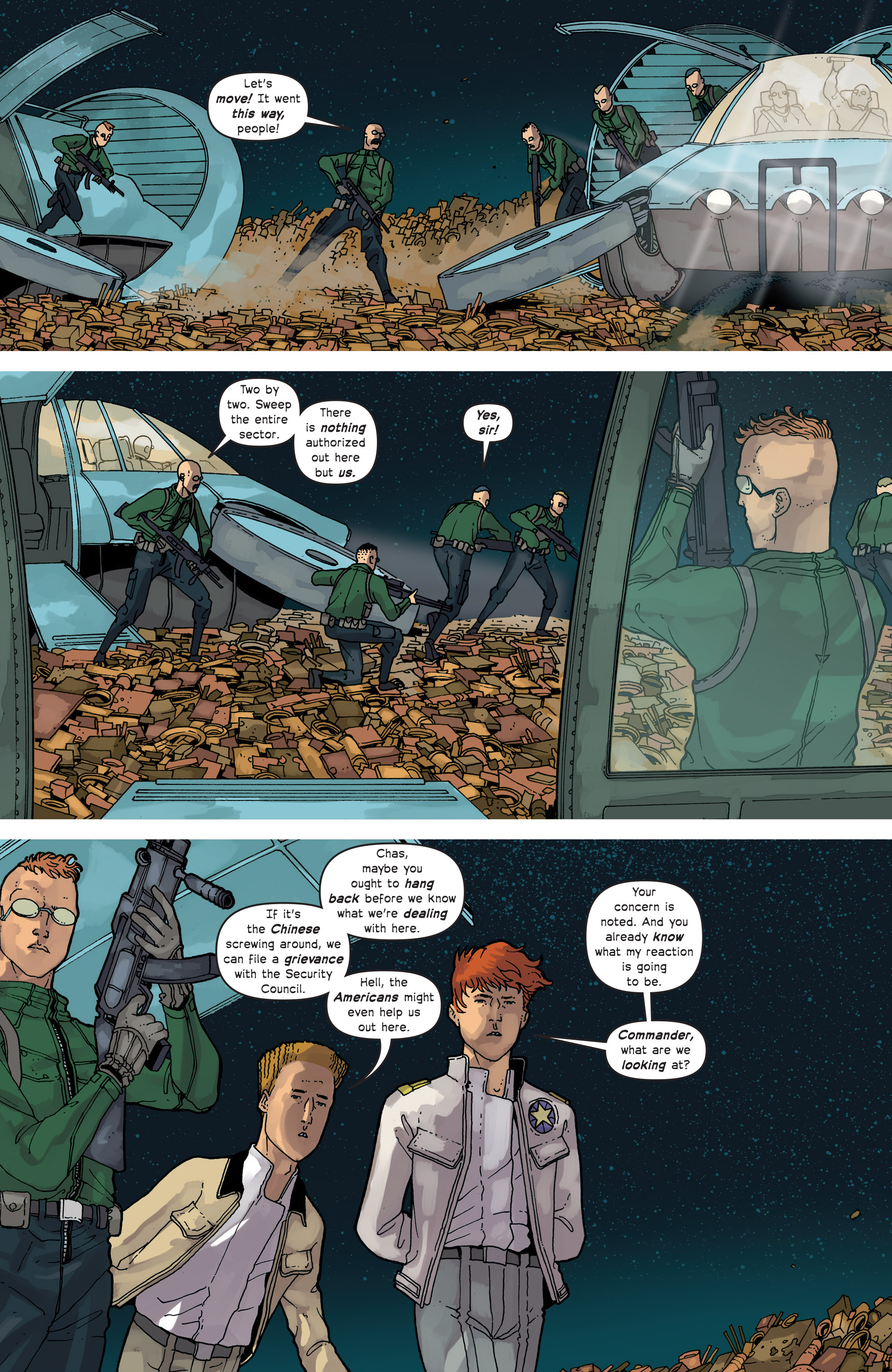 Read online Great Pacific comic -  Issue #13 - 5