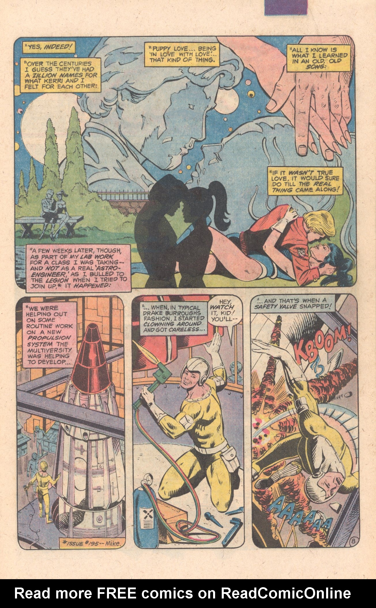Legion of Super-Heroes (1980) 283 Page 8